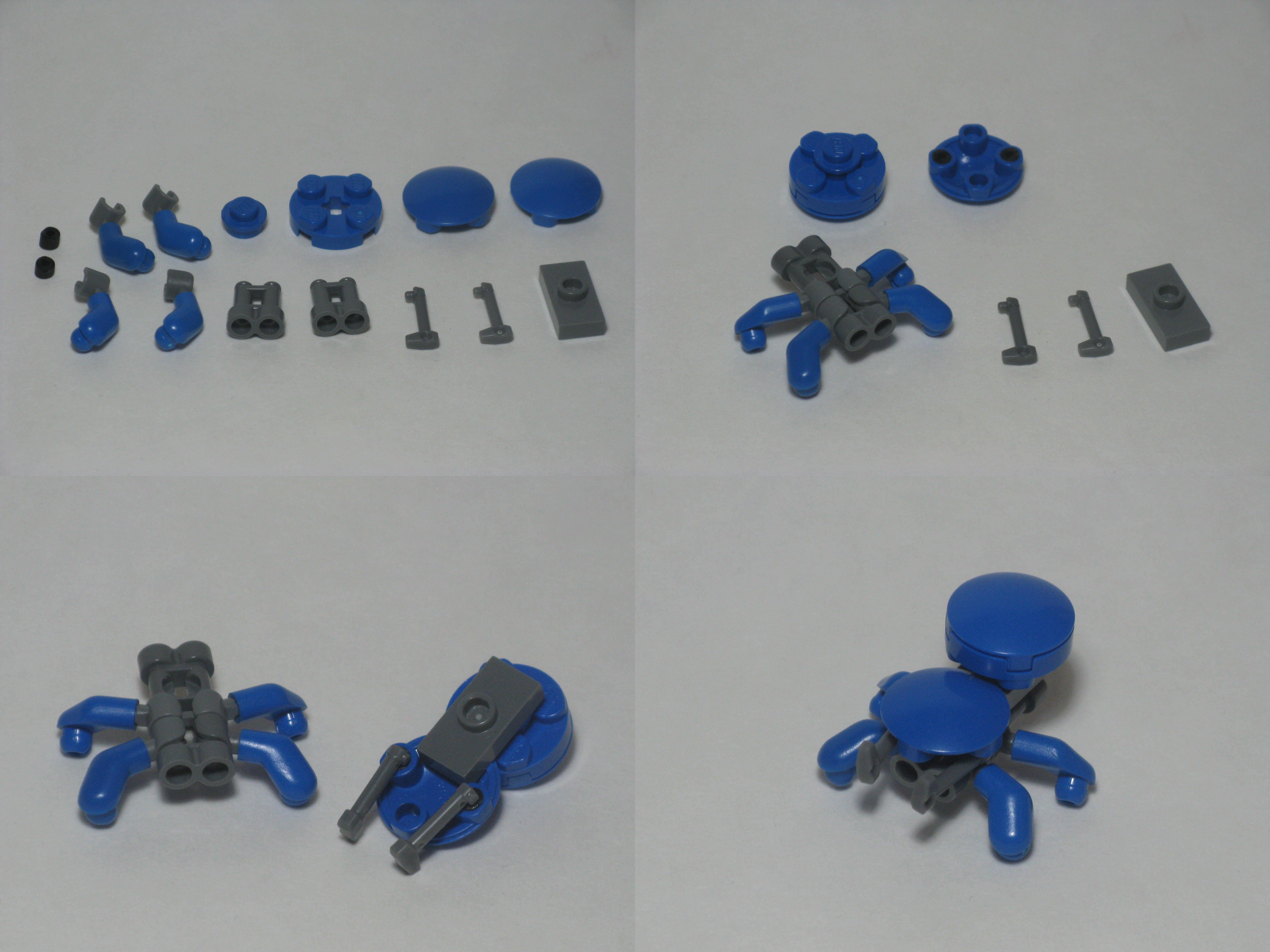 Wallpaper Anime Design Robot Spider Lego Bricks Ghost Shell