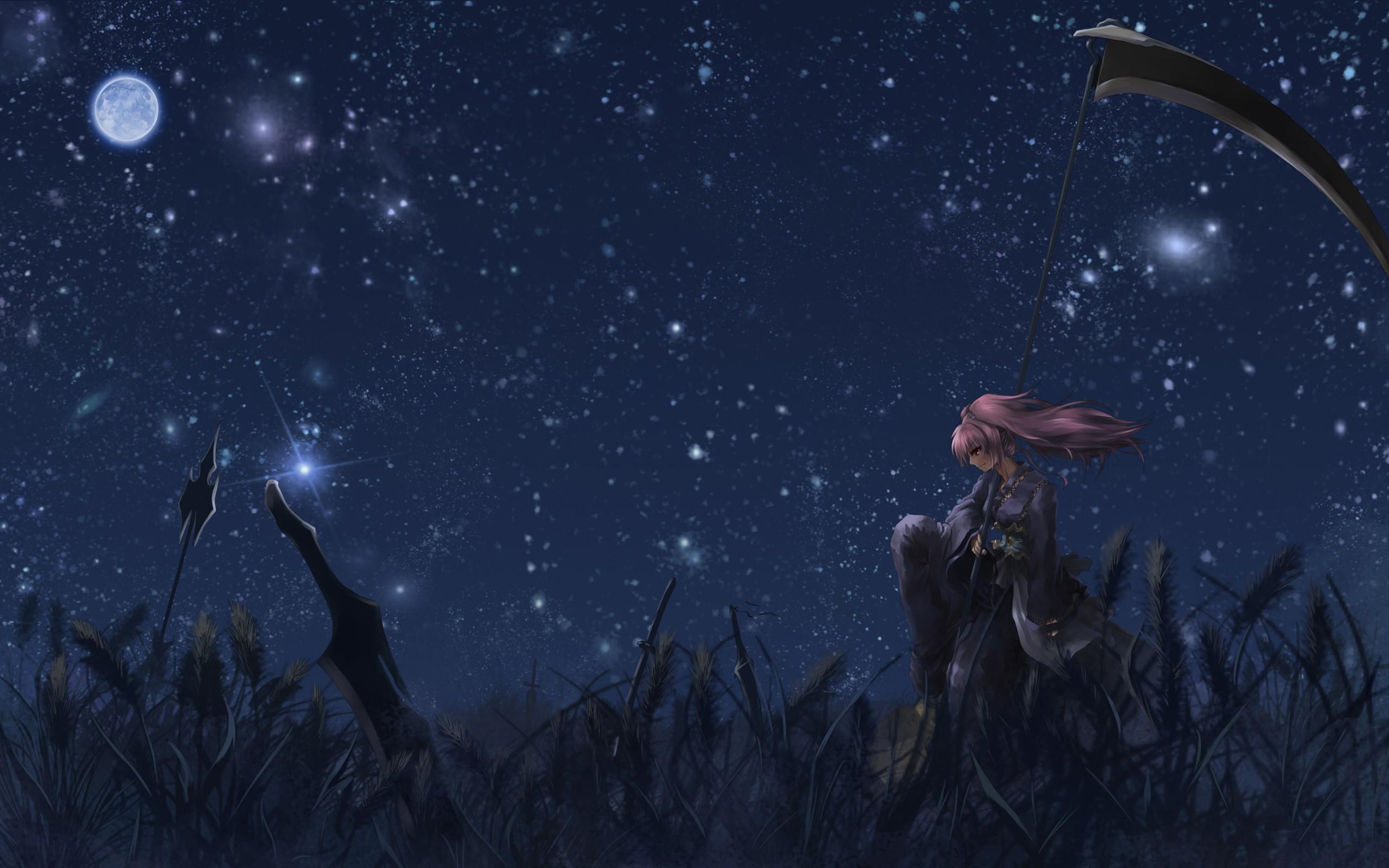 Wallpaper Anime Girl 2560x1600 Lilyth Scarlethcano 1275973