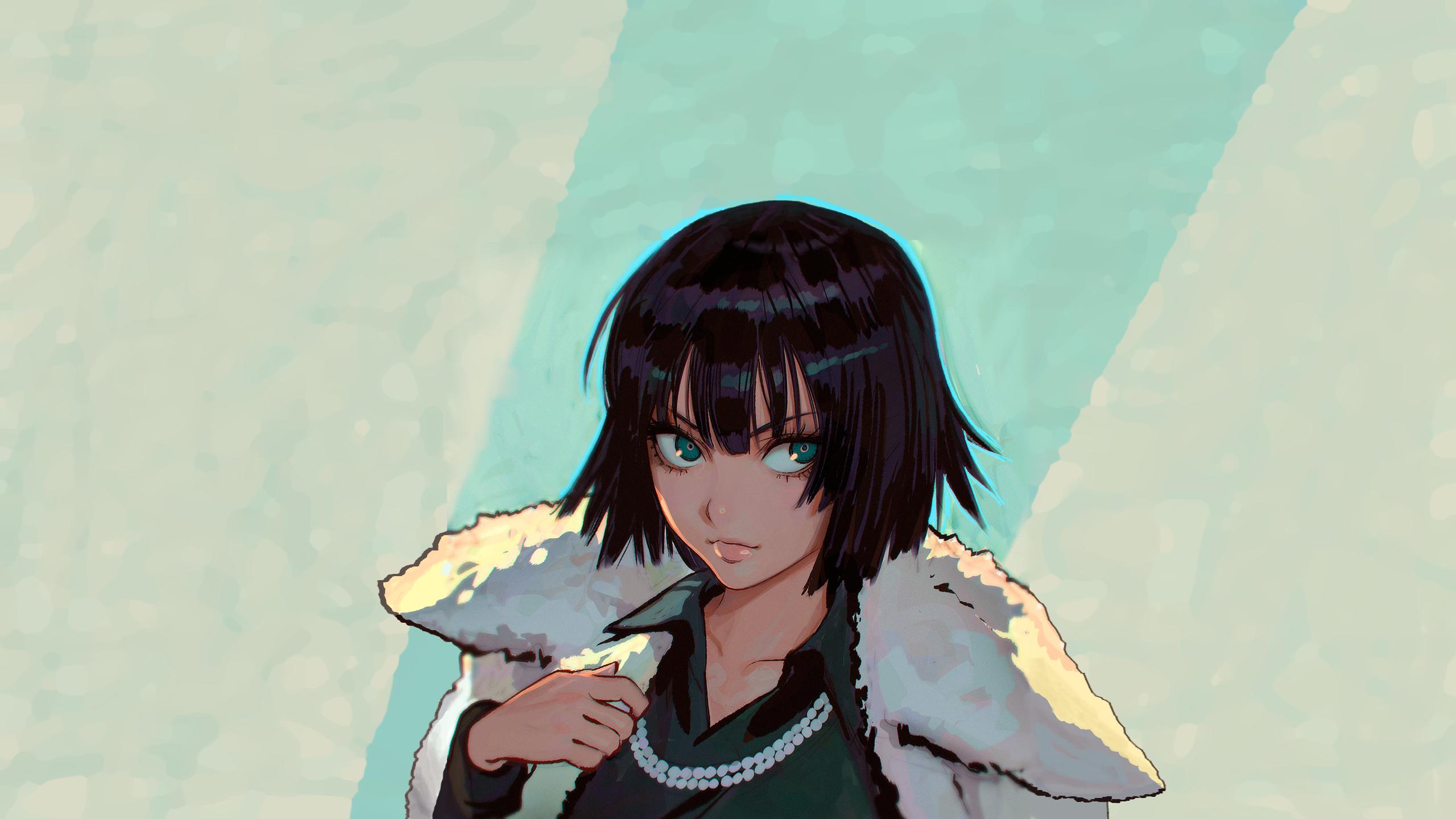 Wallpaper Anime Girls One Punch Man Fubuki Coats Black