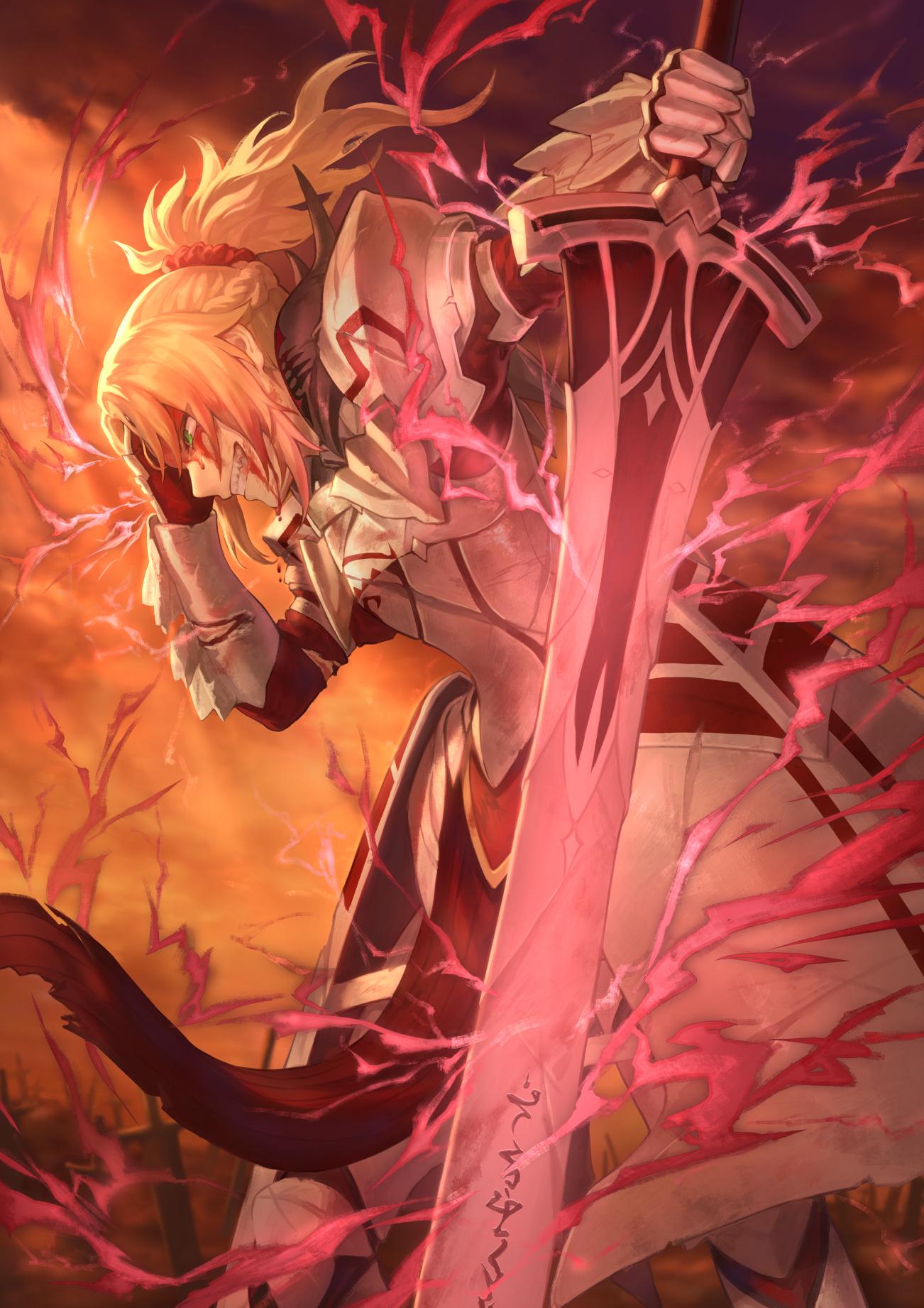 デスクトップ壁紙 アニメの女の子 フェイトグランドオーダー