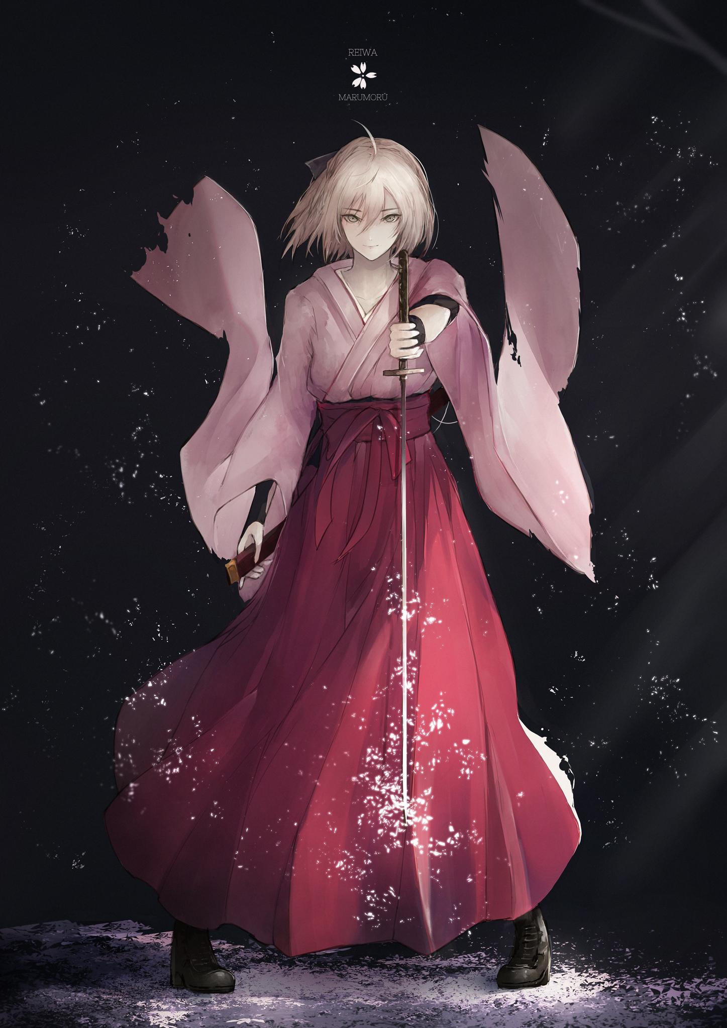 Wallpaper Anime Girls Fate Grand Order Souji Okita Fate