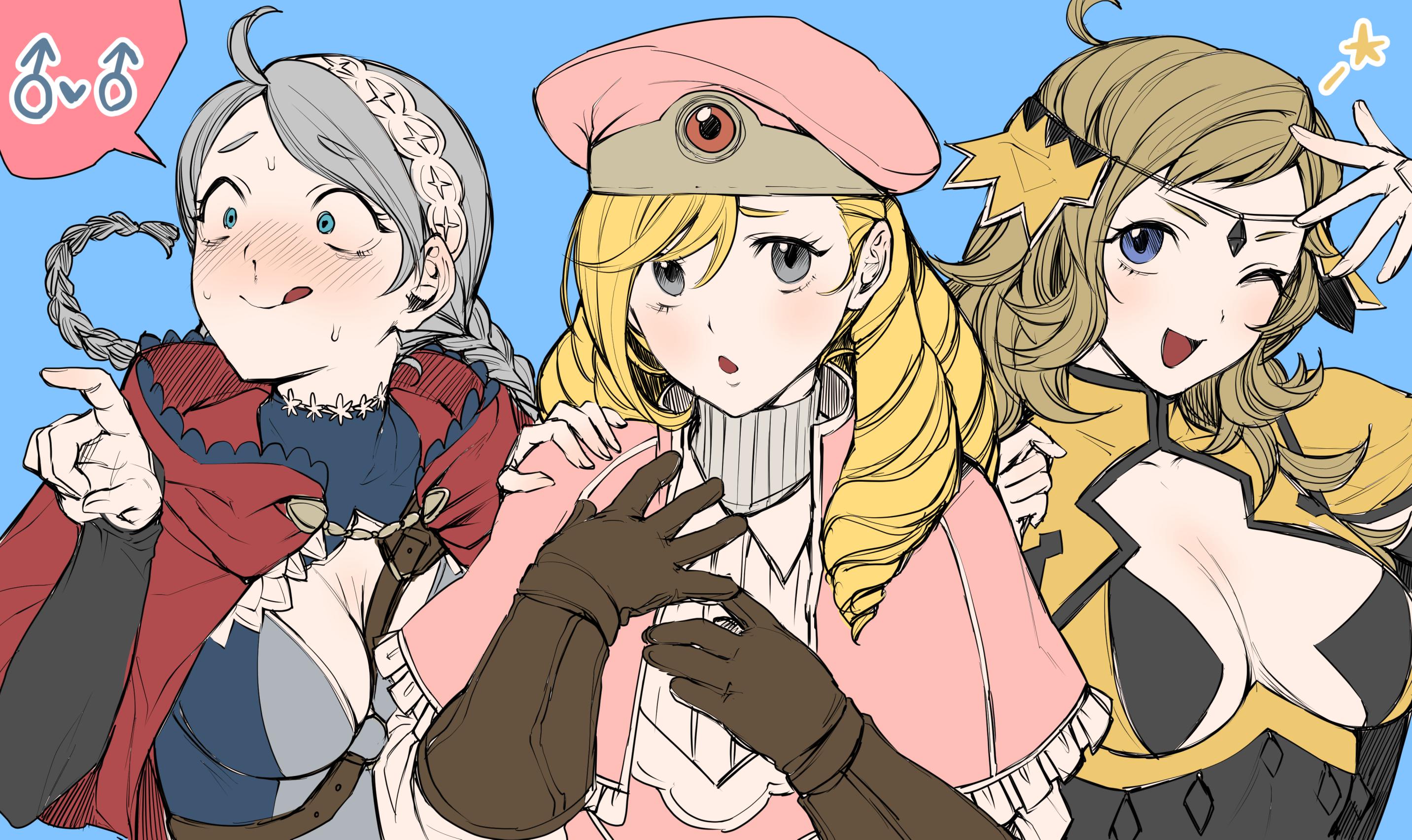 Wallpaper Anime Girls Fire Emblem Fates 2865x1705