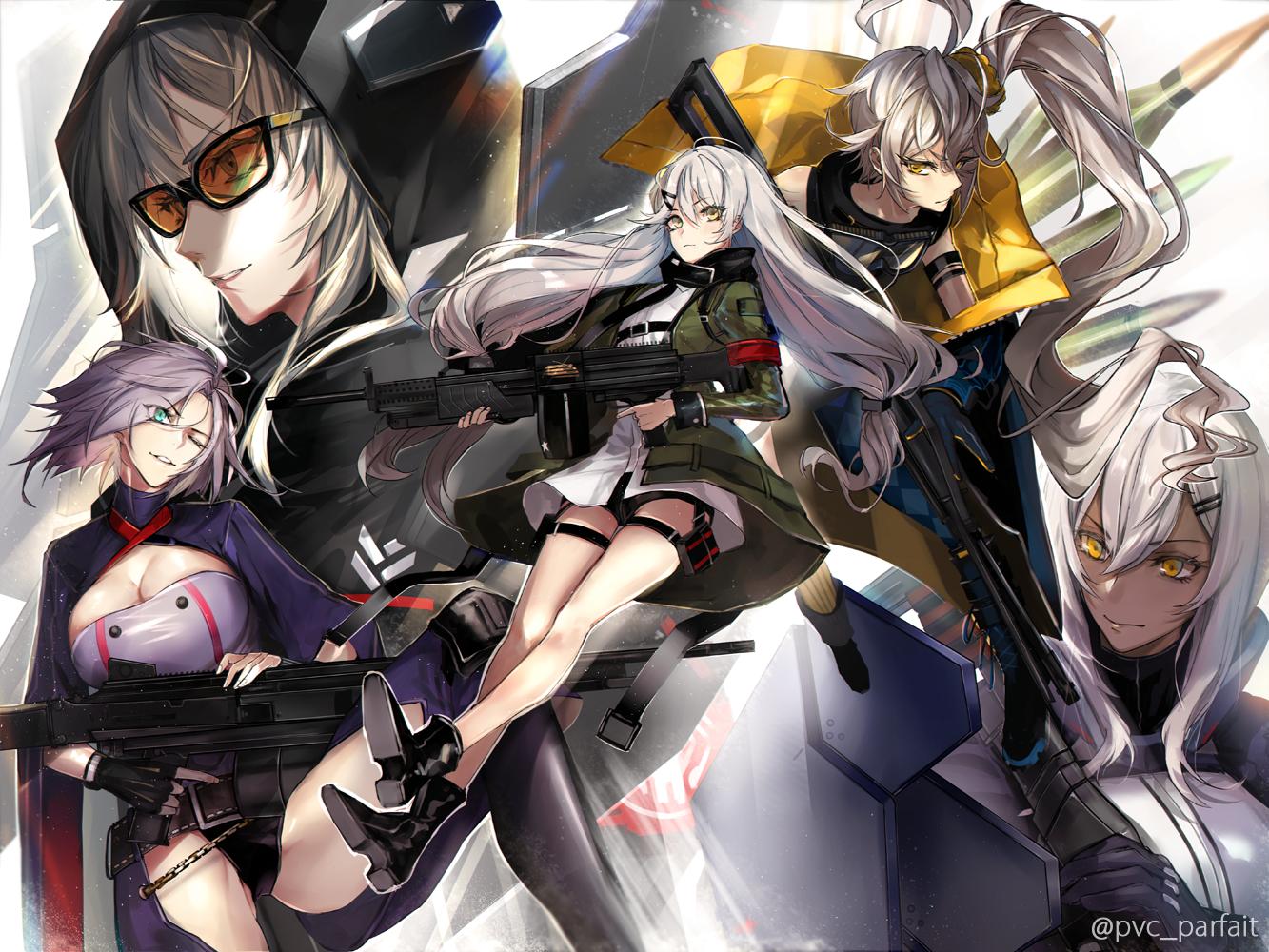 Wallpaper Anime Girls Girls Frontline Ketten 1333x1000