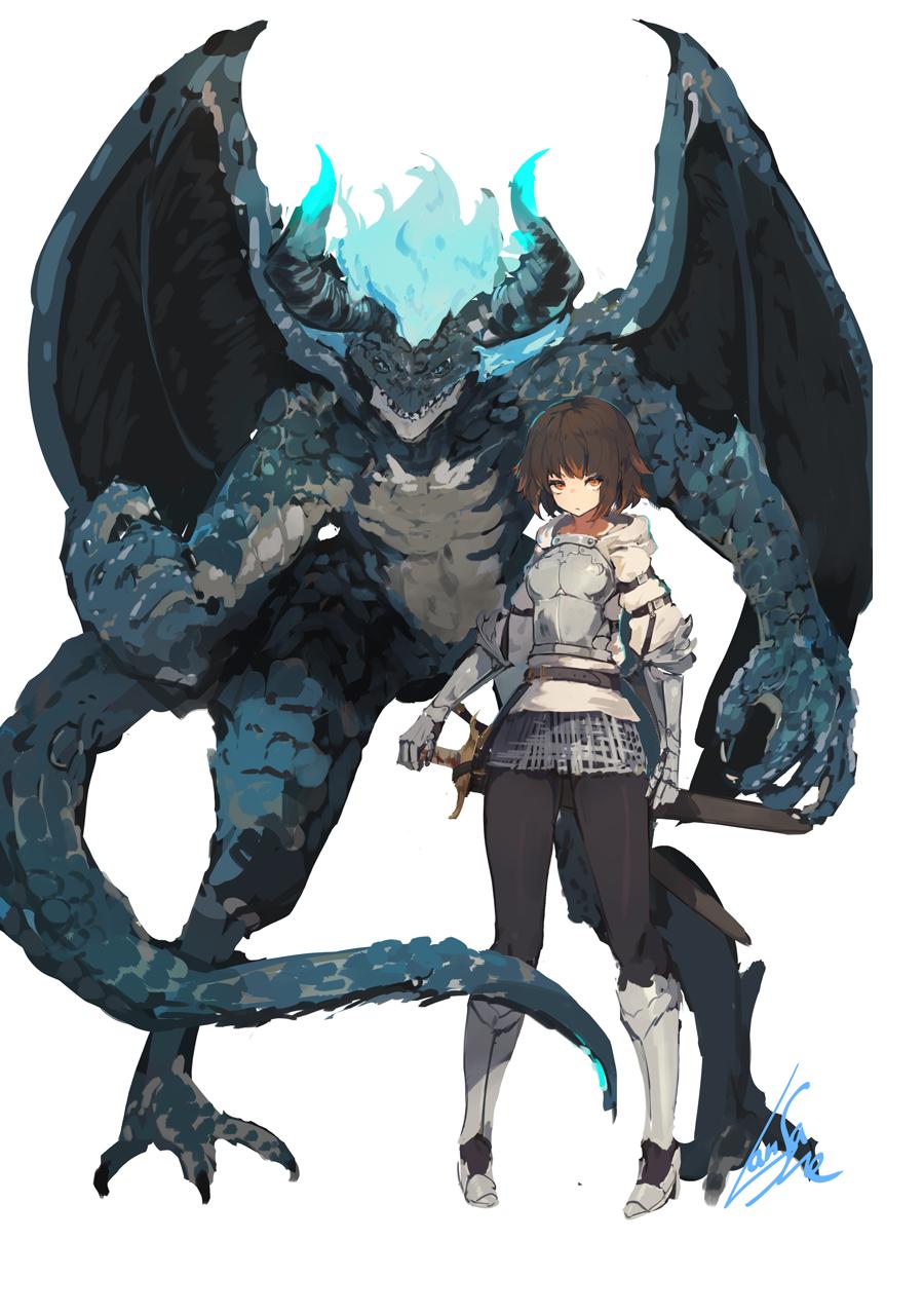 anime fantasy characters wallpaper : anime girls, original characters, fantasy girl