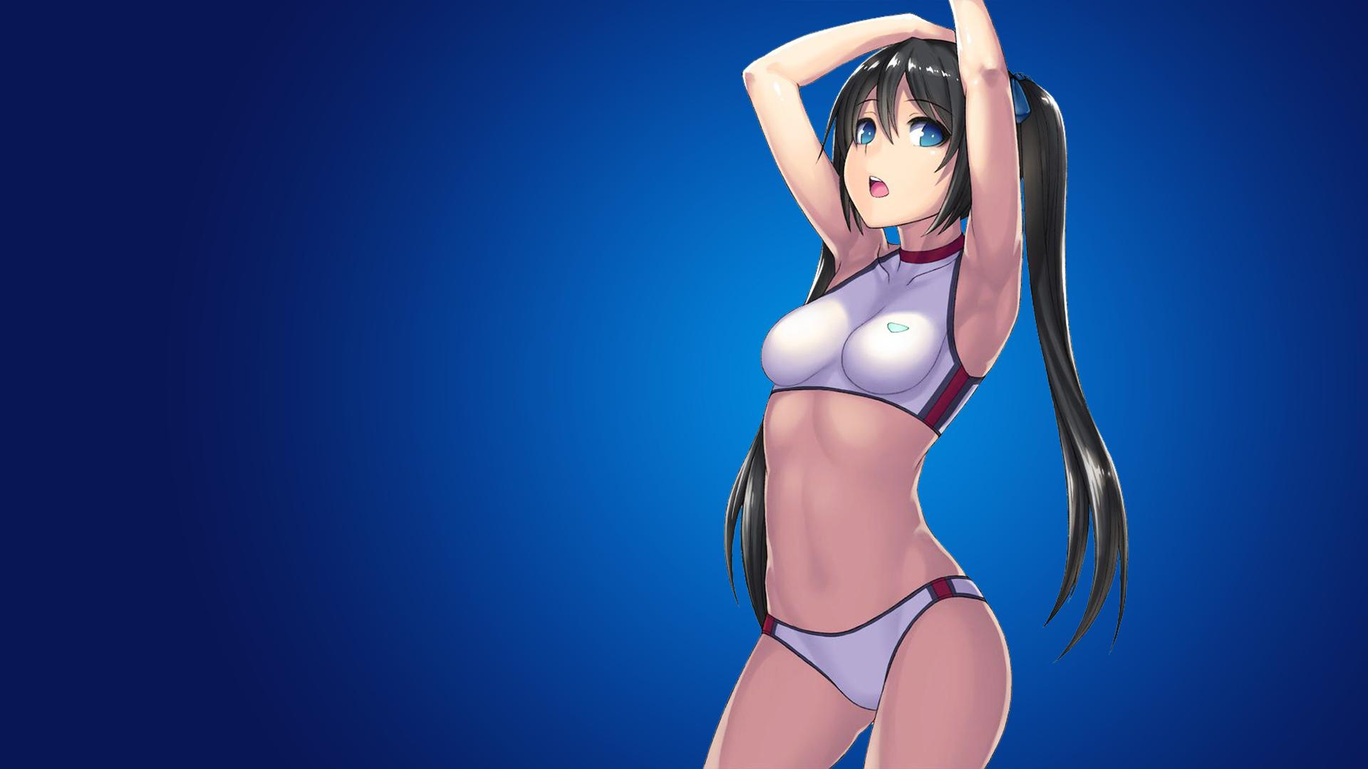 Amv anime beach woman
