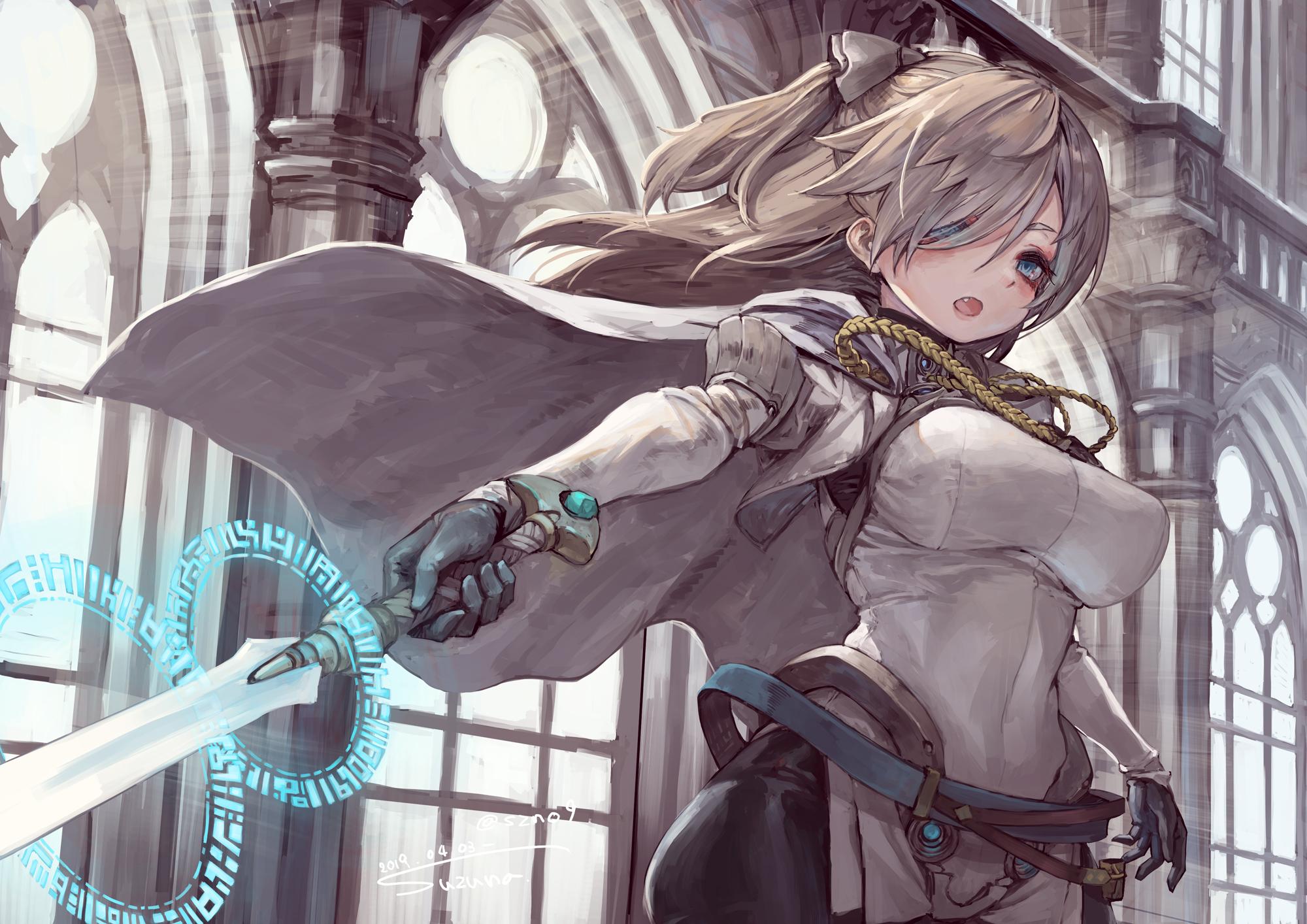 Wallpaper : anime girls, original characters, women, white ...