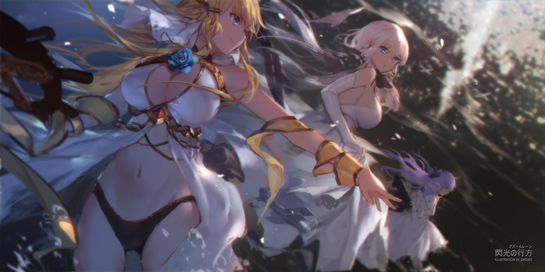 デスクトップ壁紙 アニメの女の子 Swd3e2 Azur Lane Unicorn Azur Lane Illustrious Azur Lane 25x1417 Lukks001 デスクトップ壁紙 Wallhere