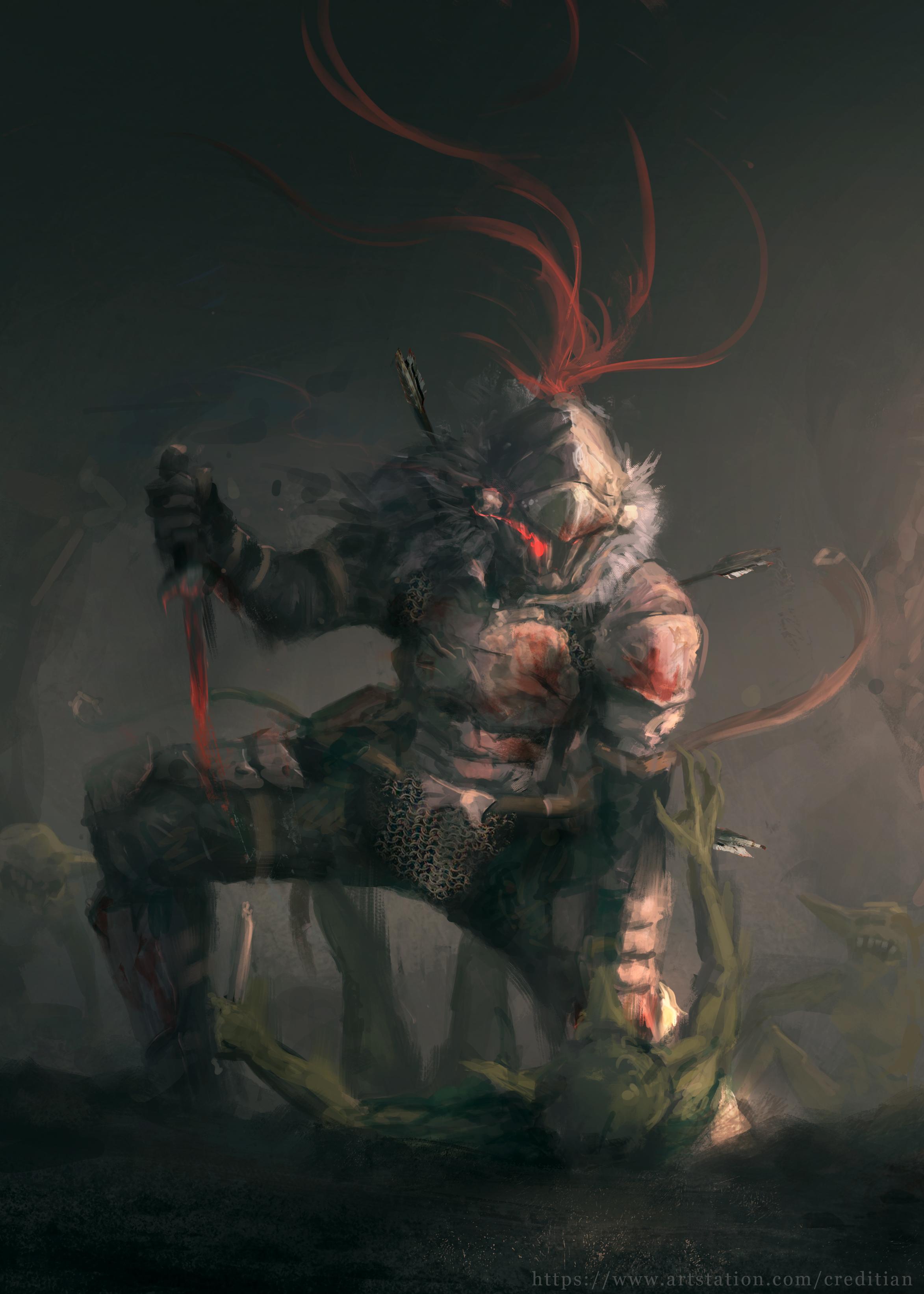 Hintergrundbilder Anime Goblin Slayer 2346x3284