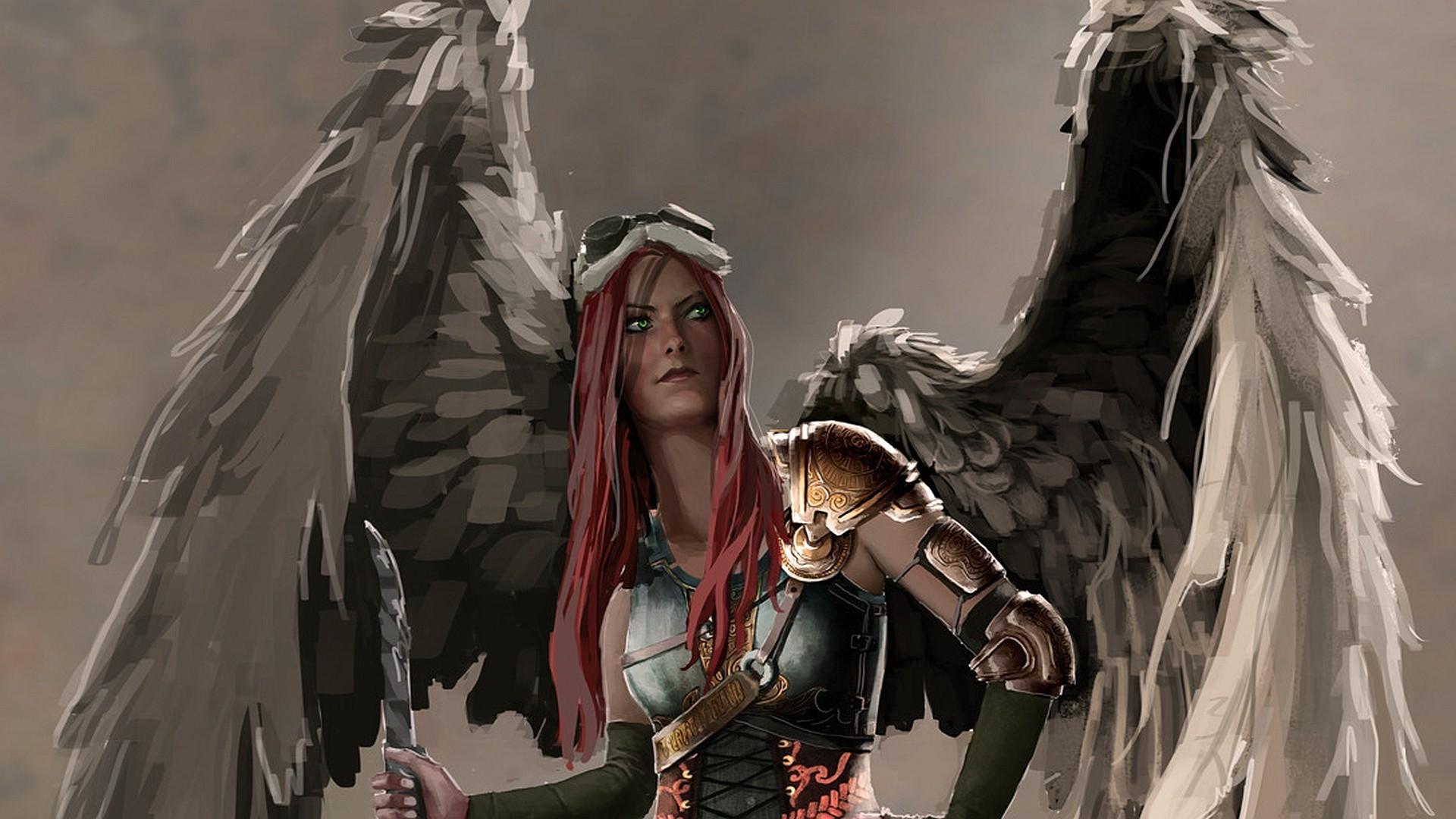 Anime Horse Angel Warrior God Mythology Screenshot 1920x1080 Px