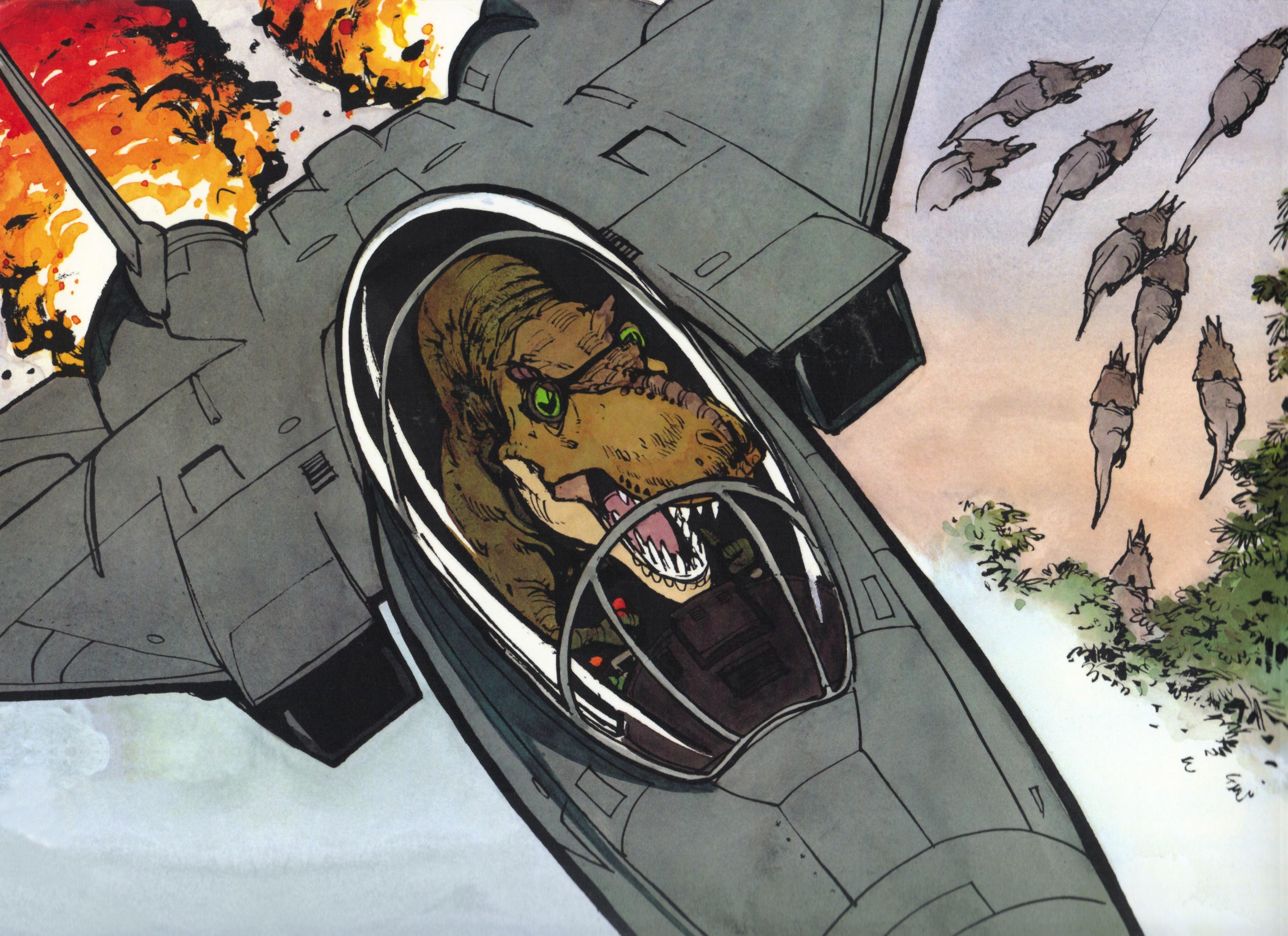 Wallpaper Anime Kelucuan Pesawat Terbang Gambar Kartun