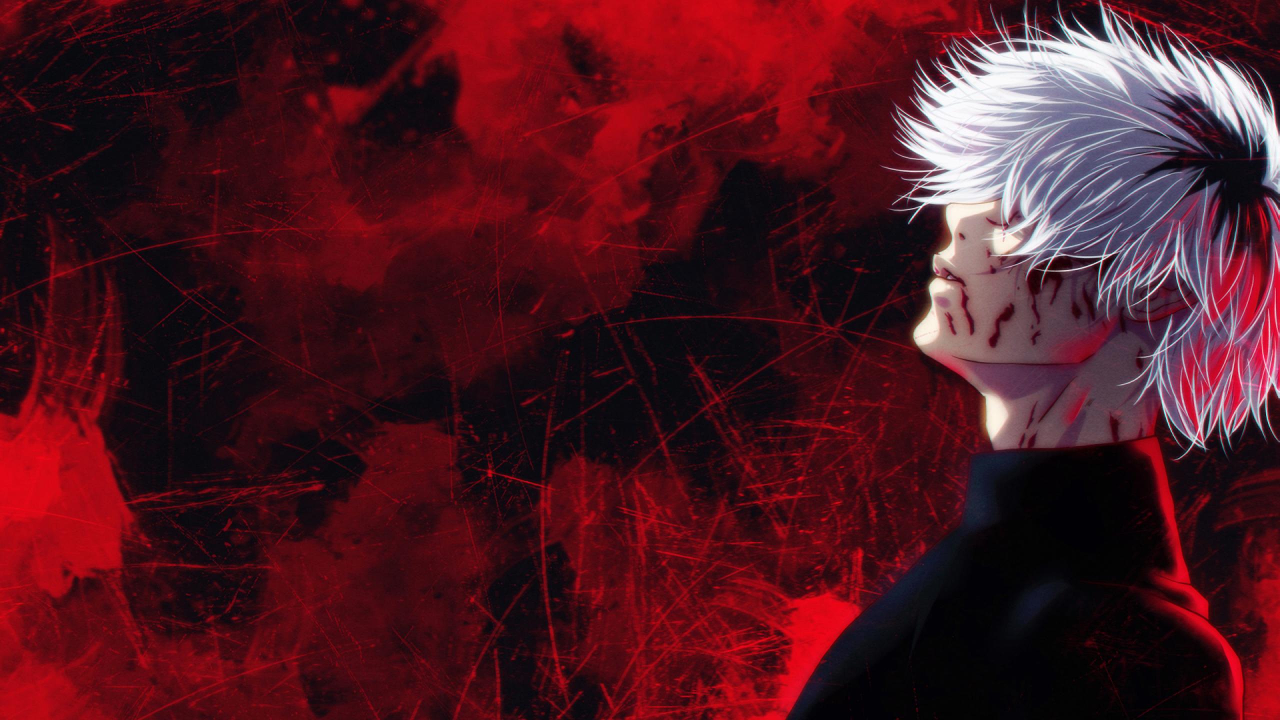 Fond d'écran : Anime, Ken kaneki, rouge, Tokyo Ghoul ...