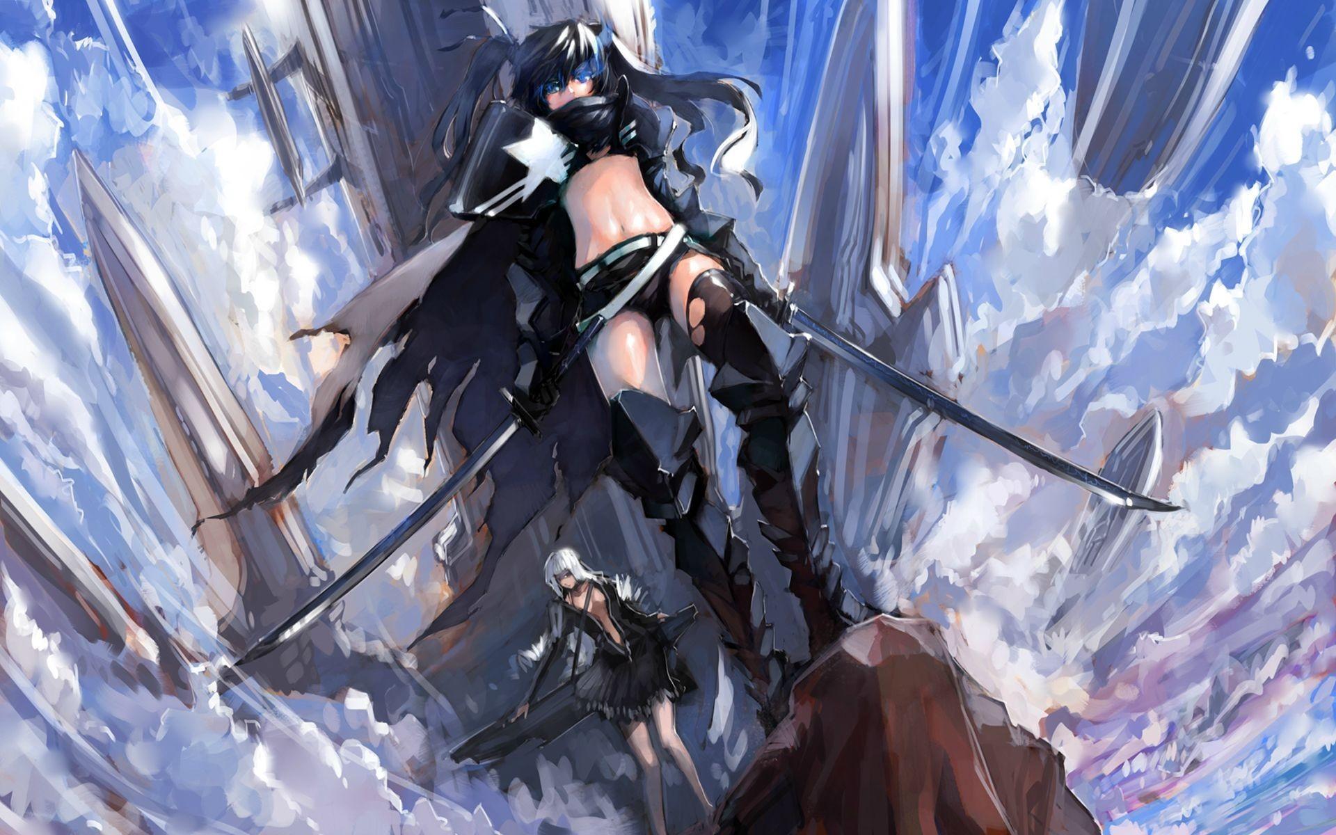 Fond d'écran : Anime, Manga, Black Rock Shooter, capture d ...
