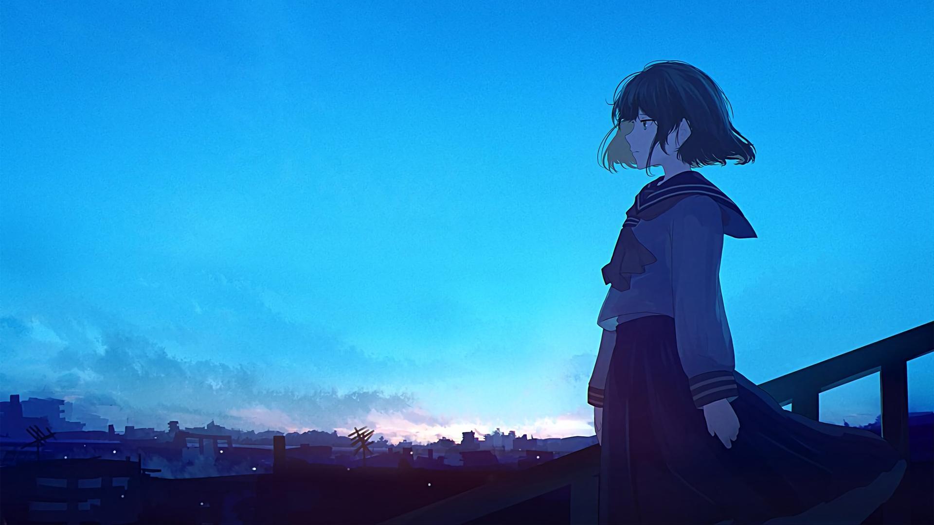 Download 42+ Background Anime Langit HD Paling Keren