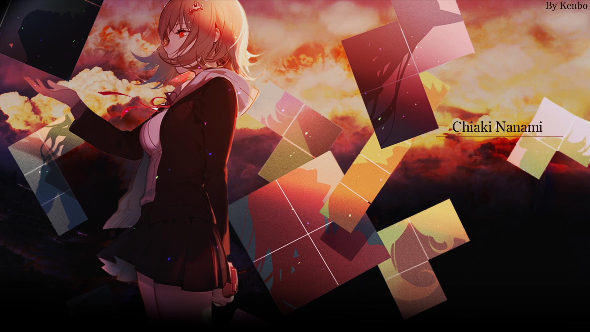 Wallpaper Manga Visual Novel Danganronpa 2 Anime Girls