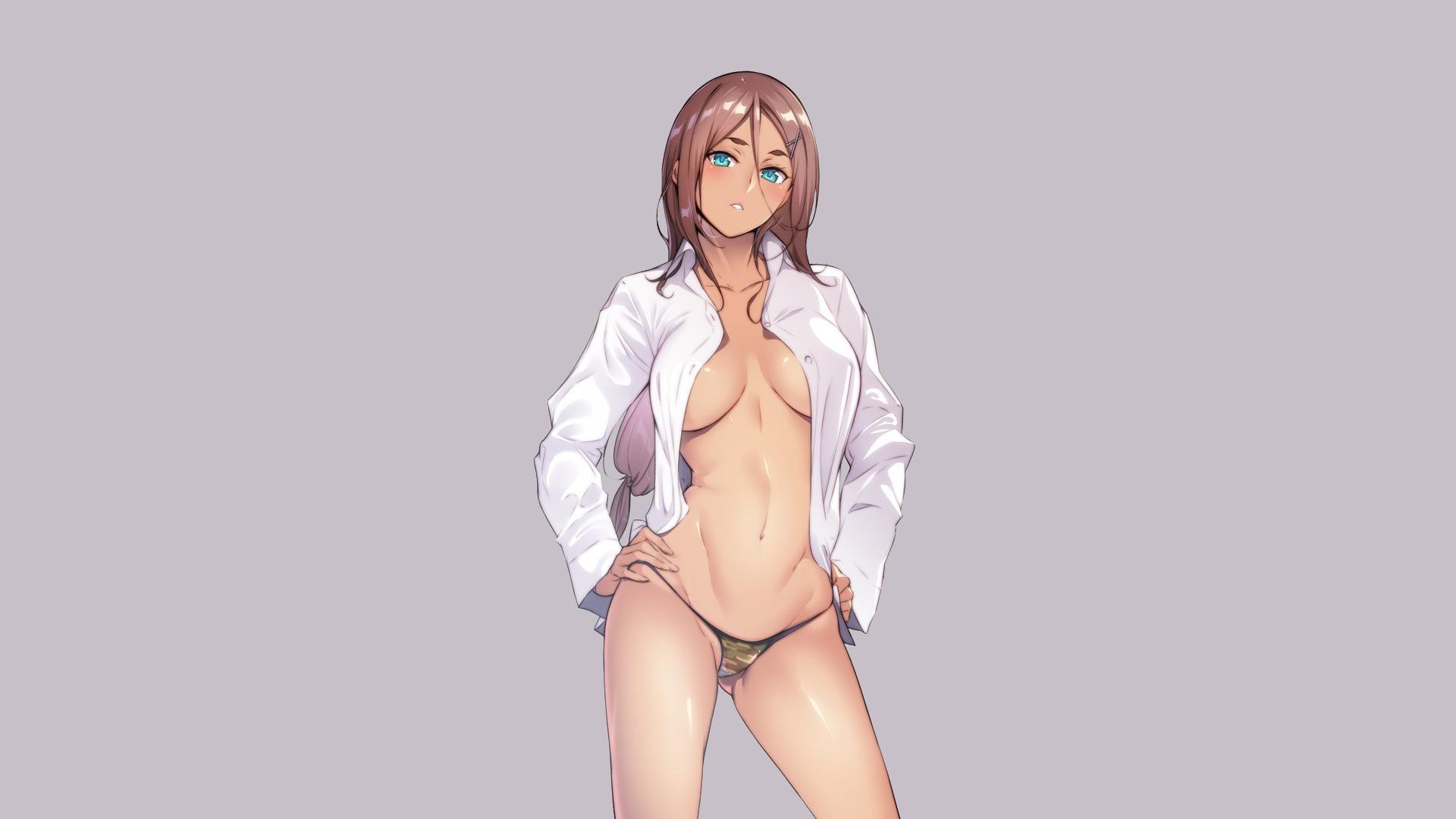 Sexy anime girl wallpaper nude erotica photo