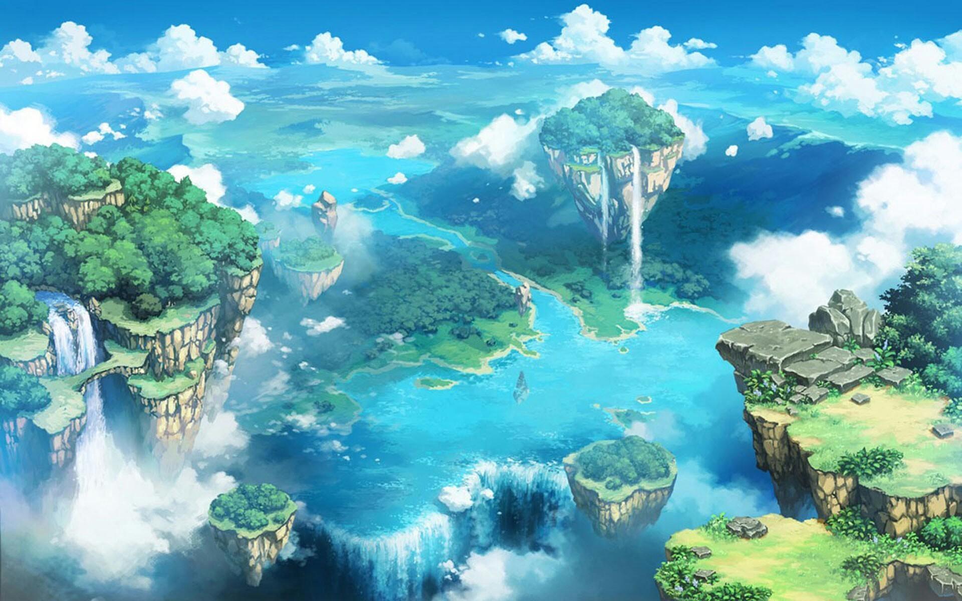 поделитесь сад в облаках картинки расположены