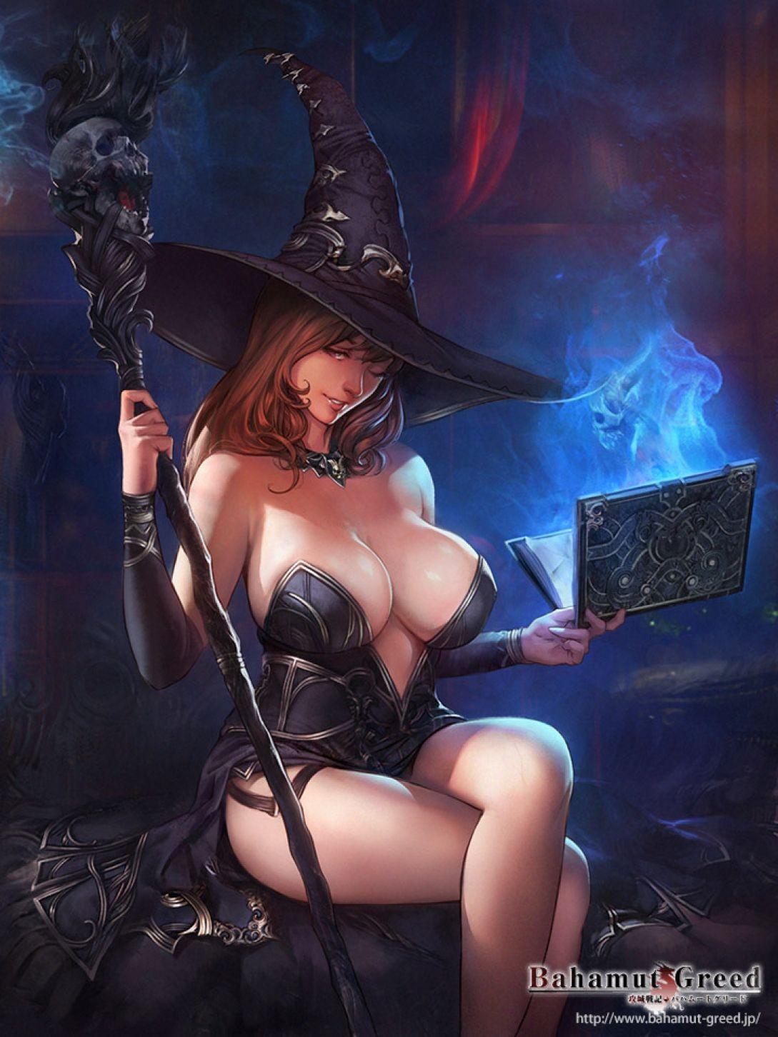 Erotic halloween art