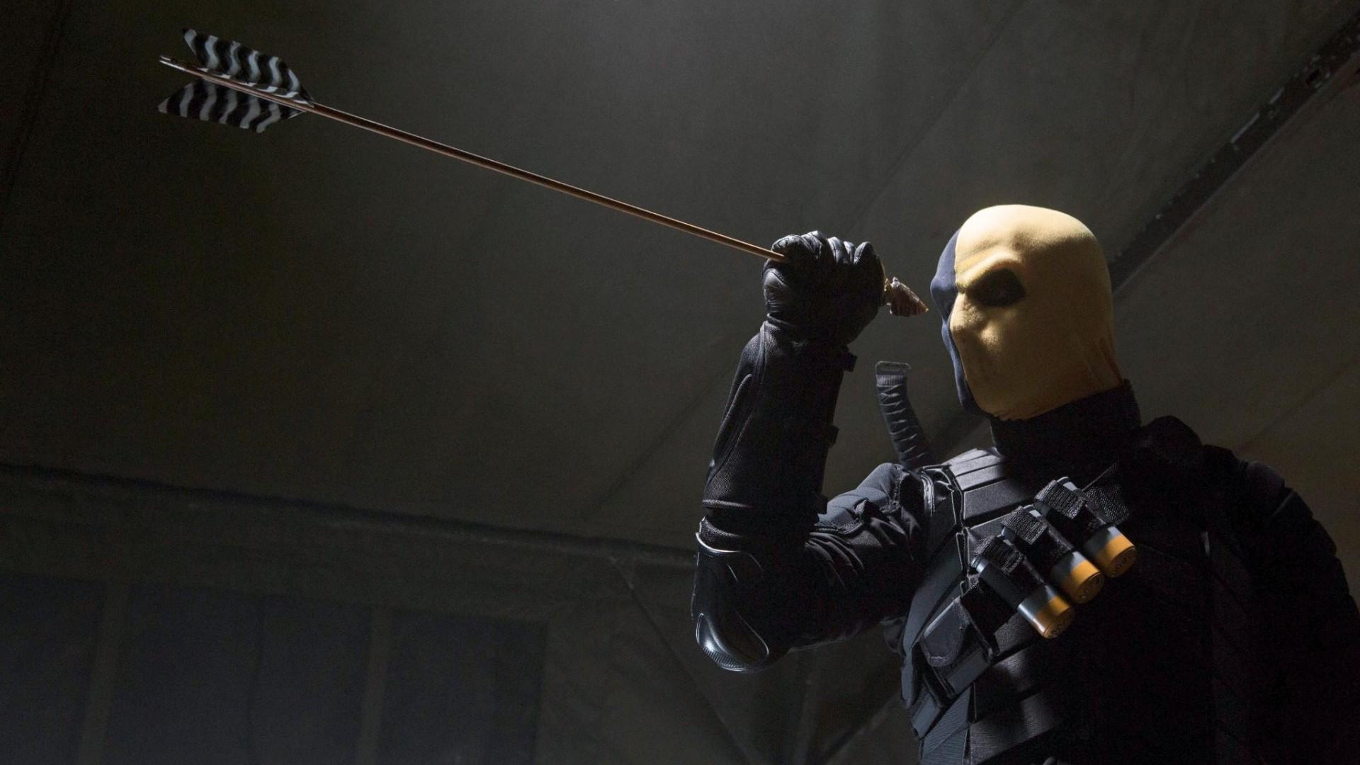 Wallpaper Archery Arrow Deathstroke Slade Wilson