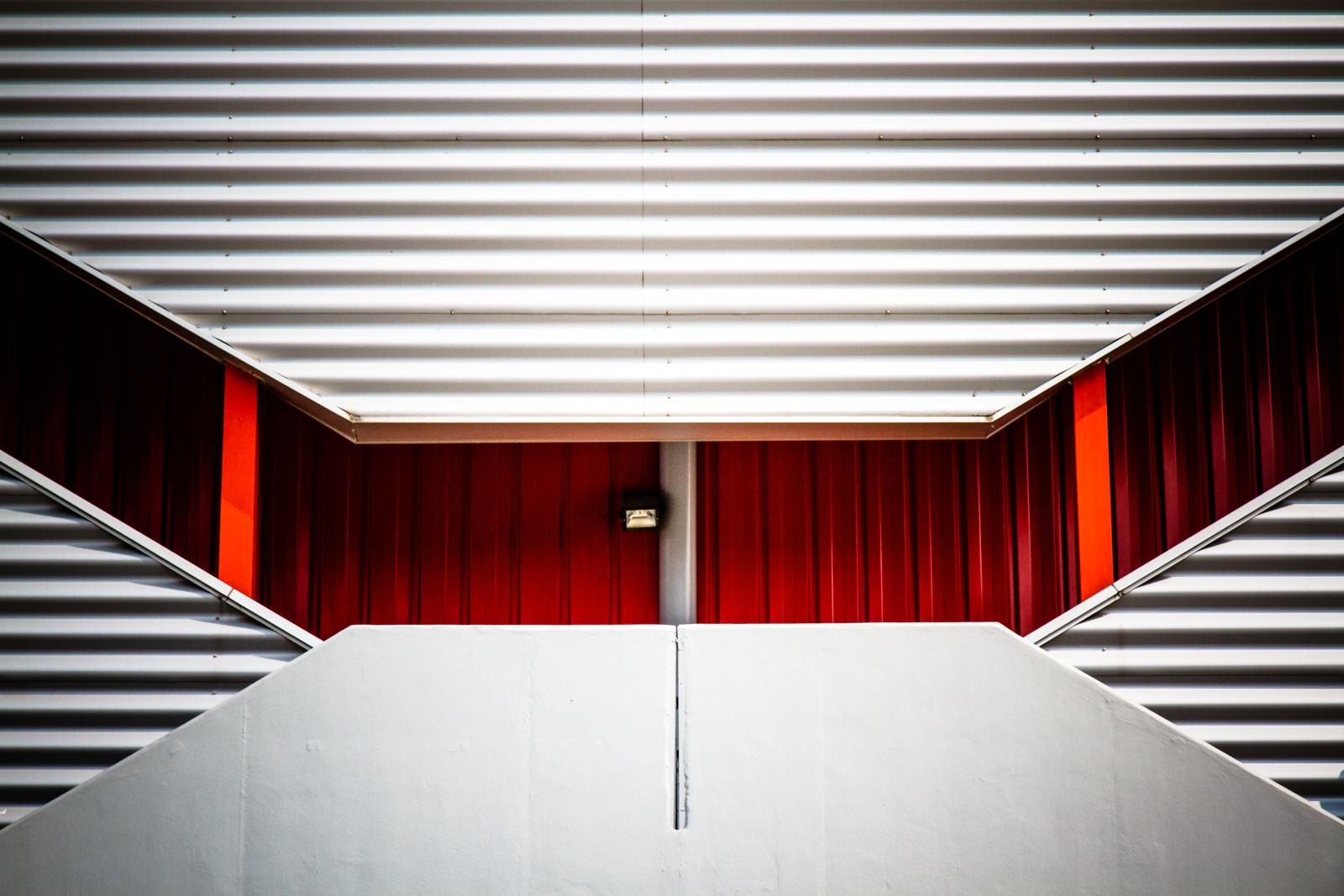 Hintergrundbilder : die Architektur, abstrakt, rot, Mauer, Holz ...