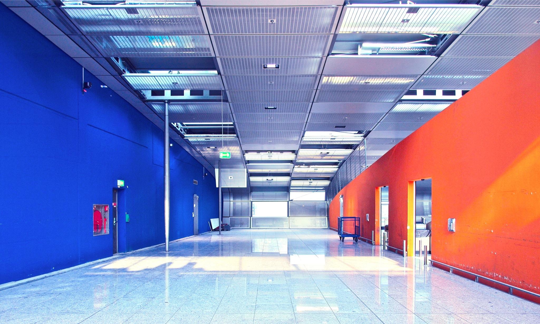 Innenarchitektur Frankfurt Am hintergrundbilder die architektur innere flur blau