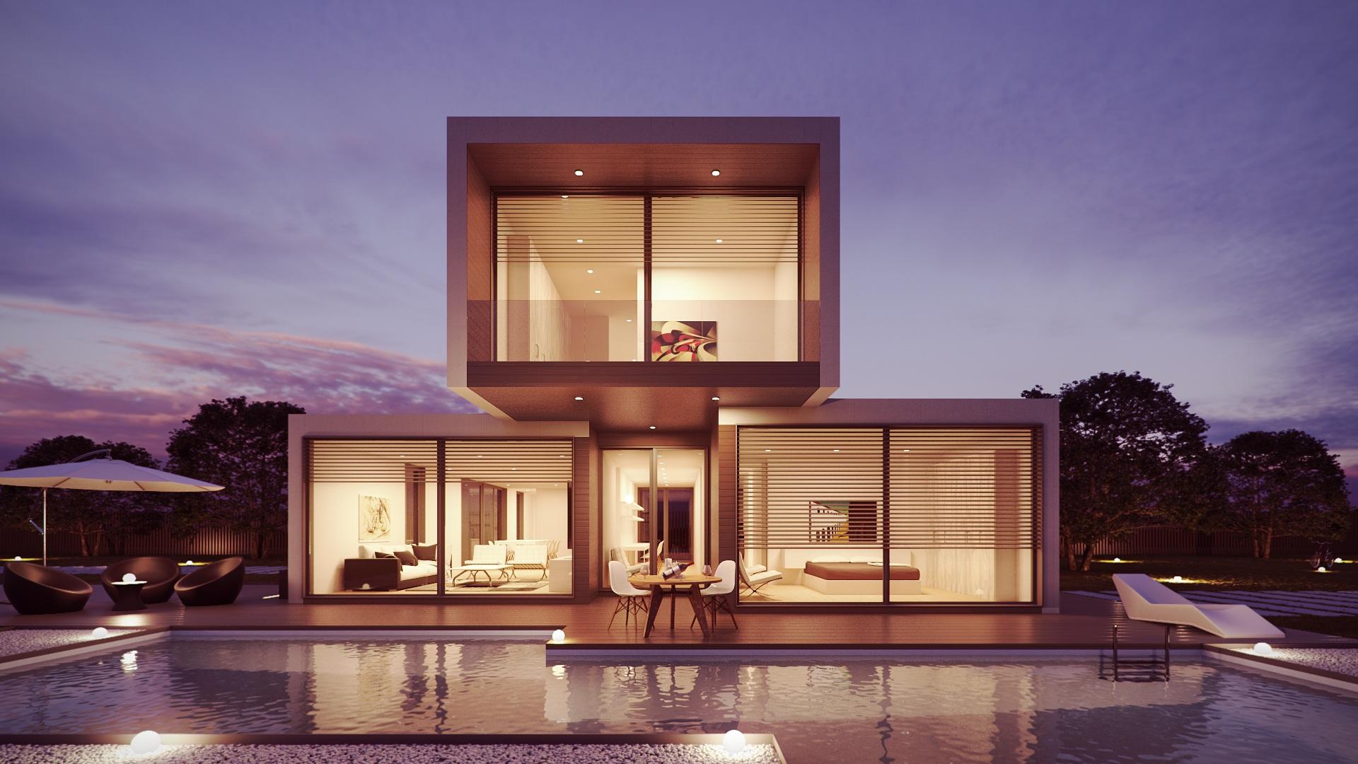 Interieur Maison Moderne Architecte fond d'écran : architecture, intérieur, maison, moderne