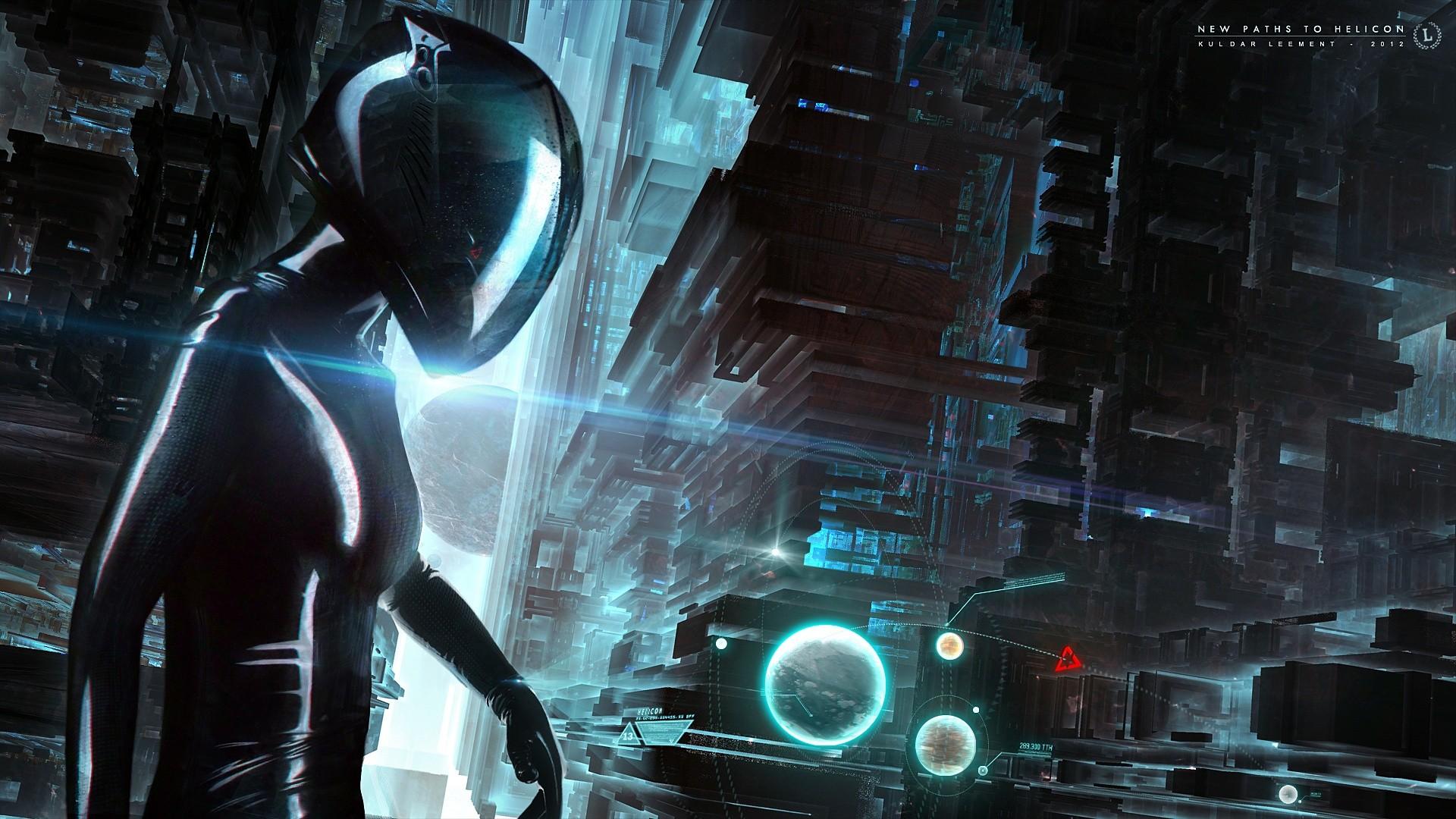 Fond d 39 cran architecture espace science fiction for Capture d42cran