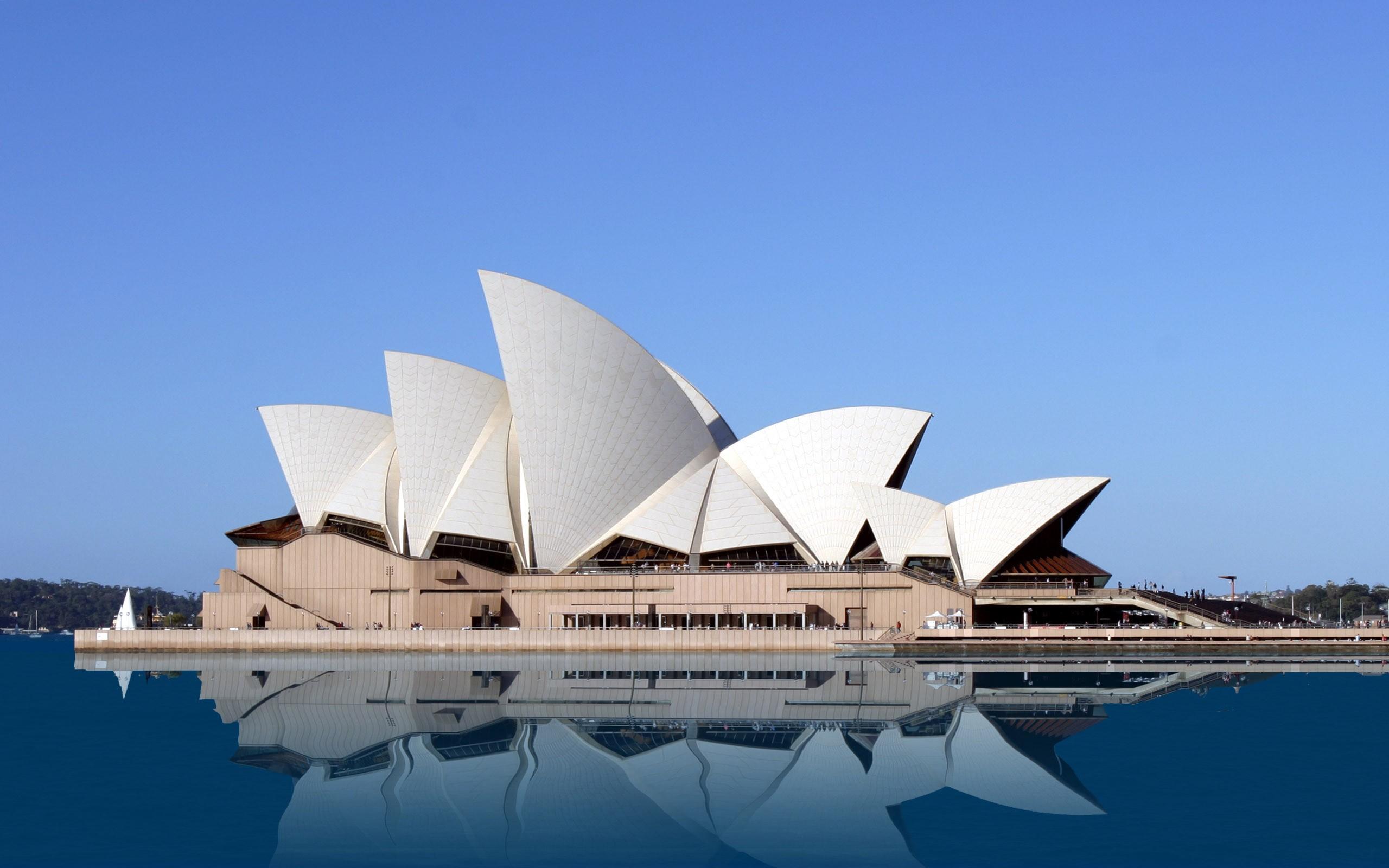 Opéra de sydney structure