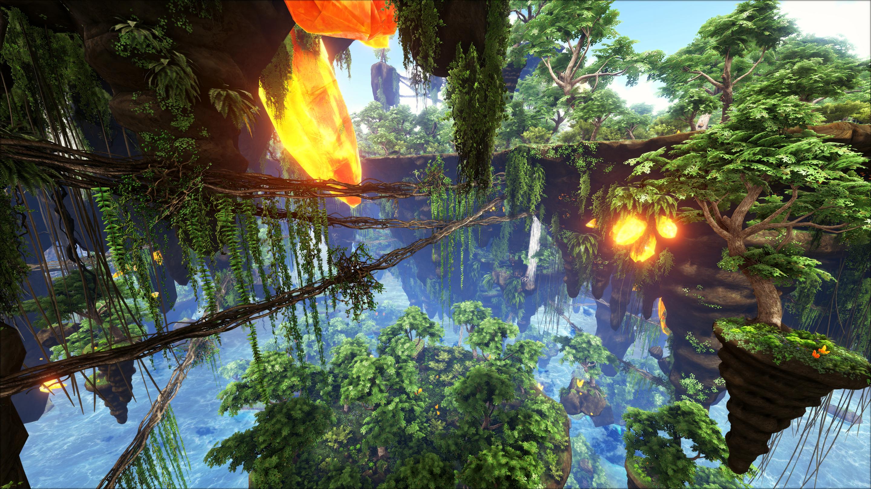 Wallpaper Ark Ark Survival Evolved Video Games 2880x1620