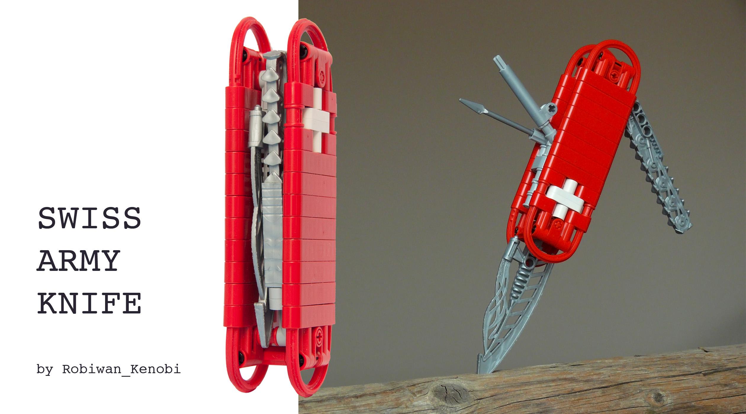 Fond D 233 Cran Arm 233 E Lego Suisse Couteau Technique