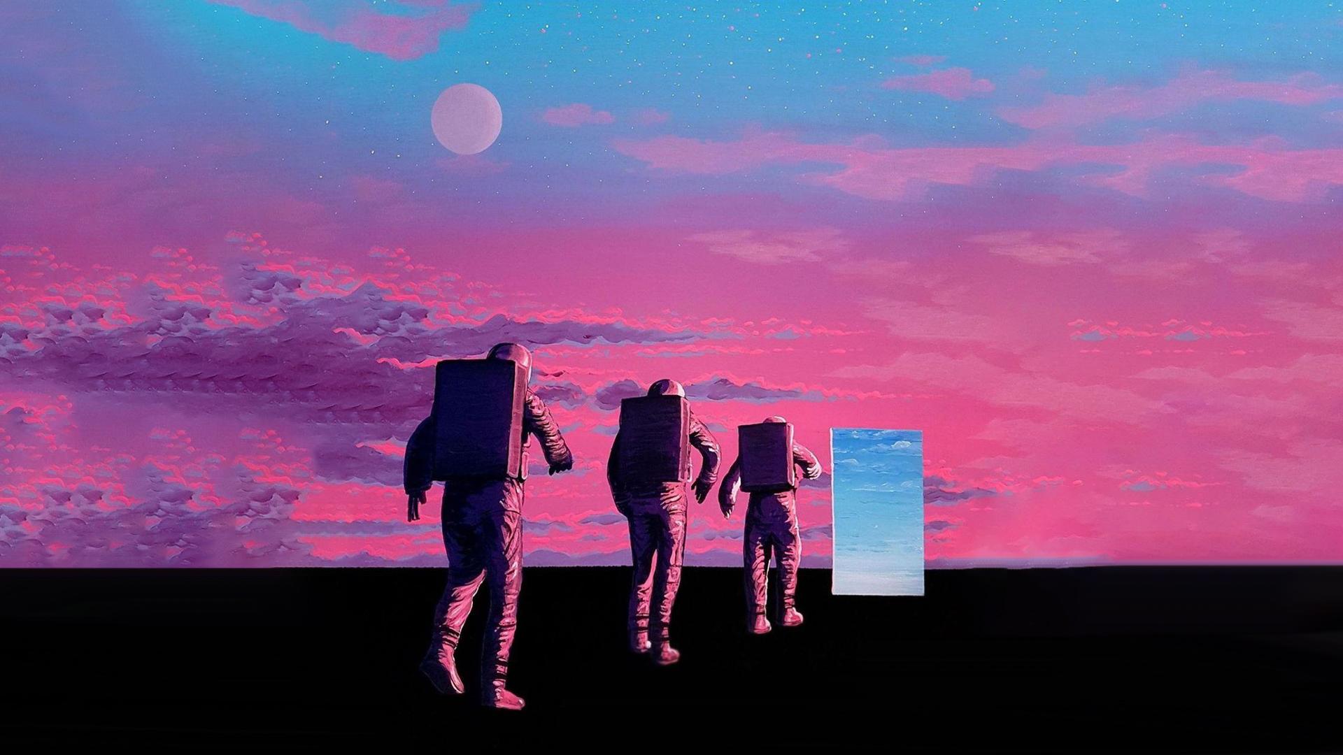 artwork astronaut space 1792067
