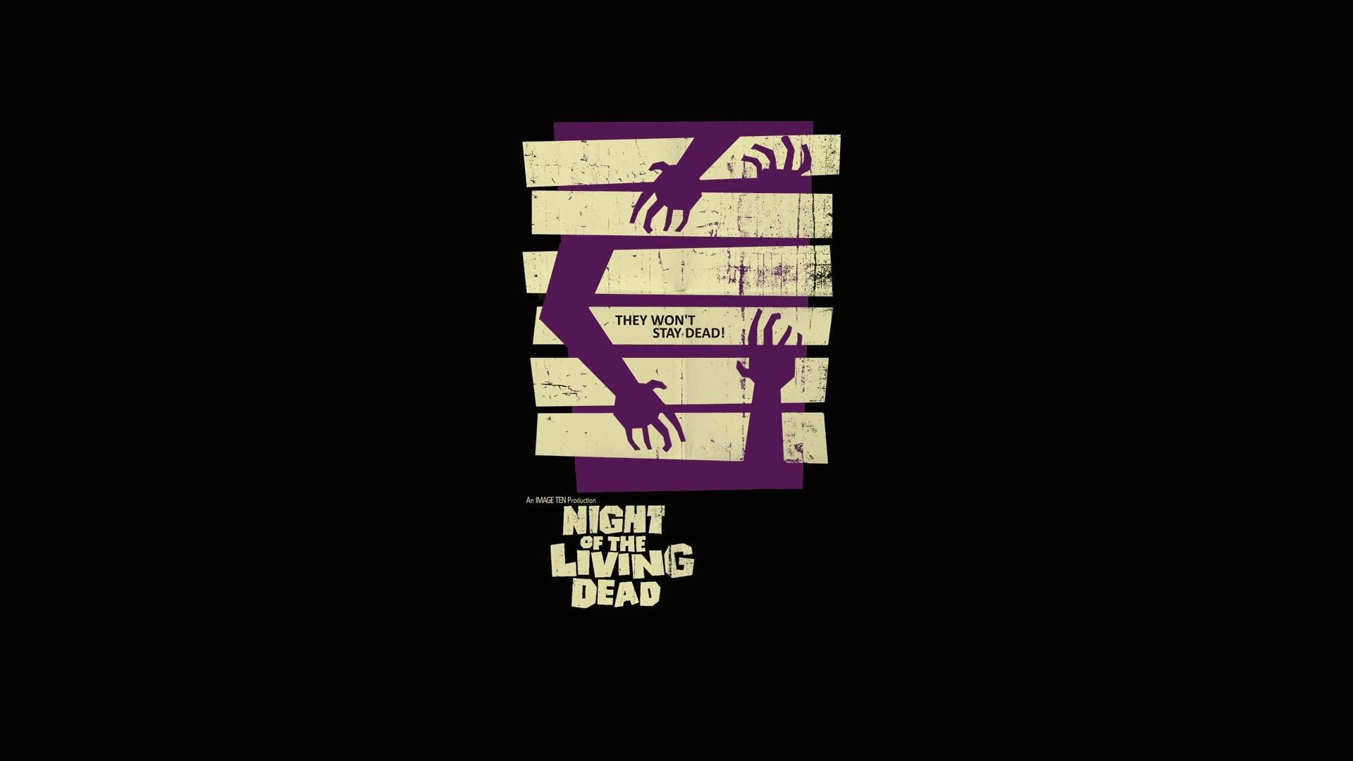 Wallpaper Artwork Movies Text Logo Brand Night Of The