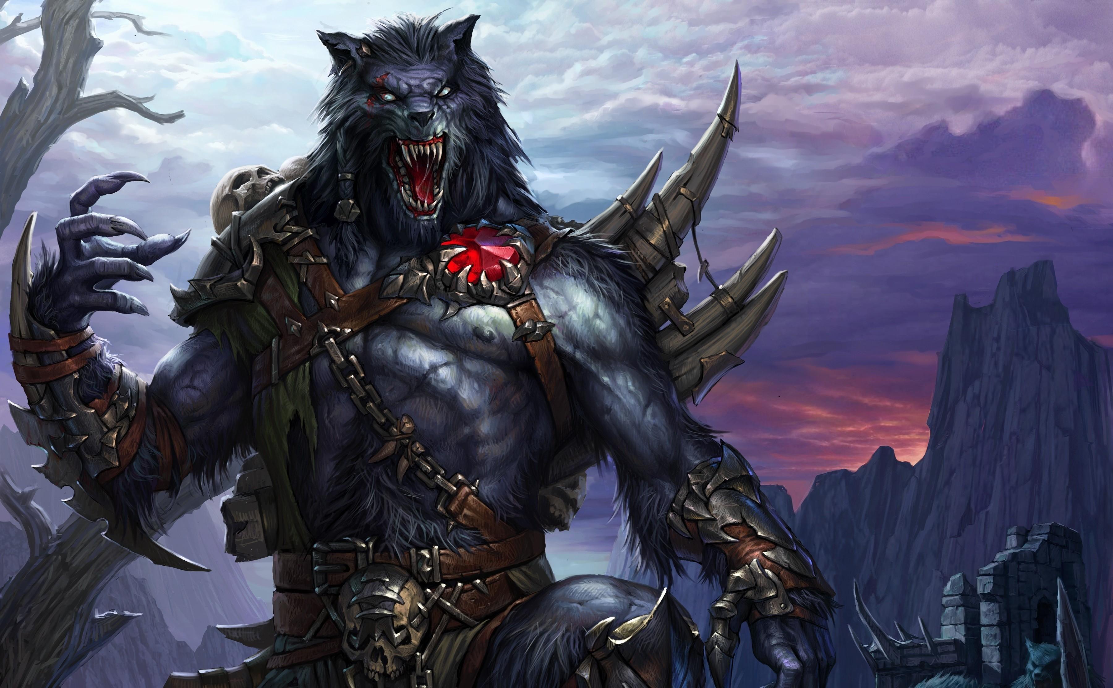 3d pics elf warrior werewolf pornos films
