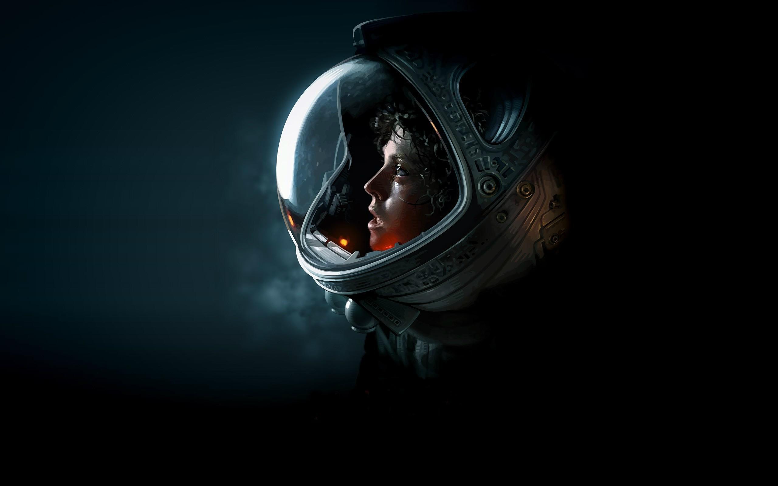 wallpaper : artwork, science fiction, alien movie, space suit, ellen