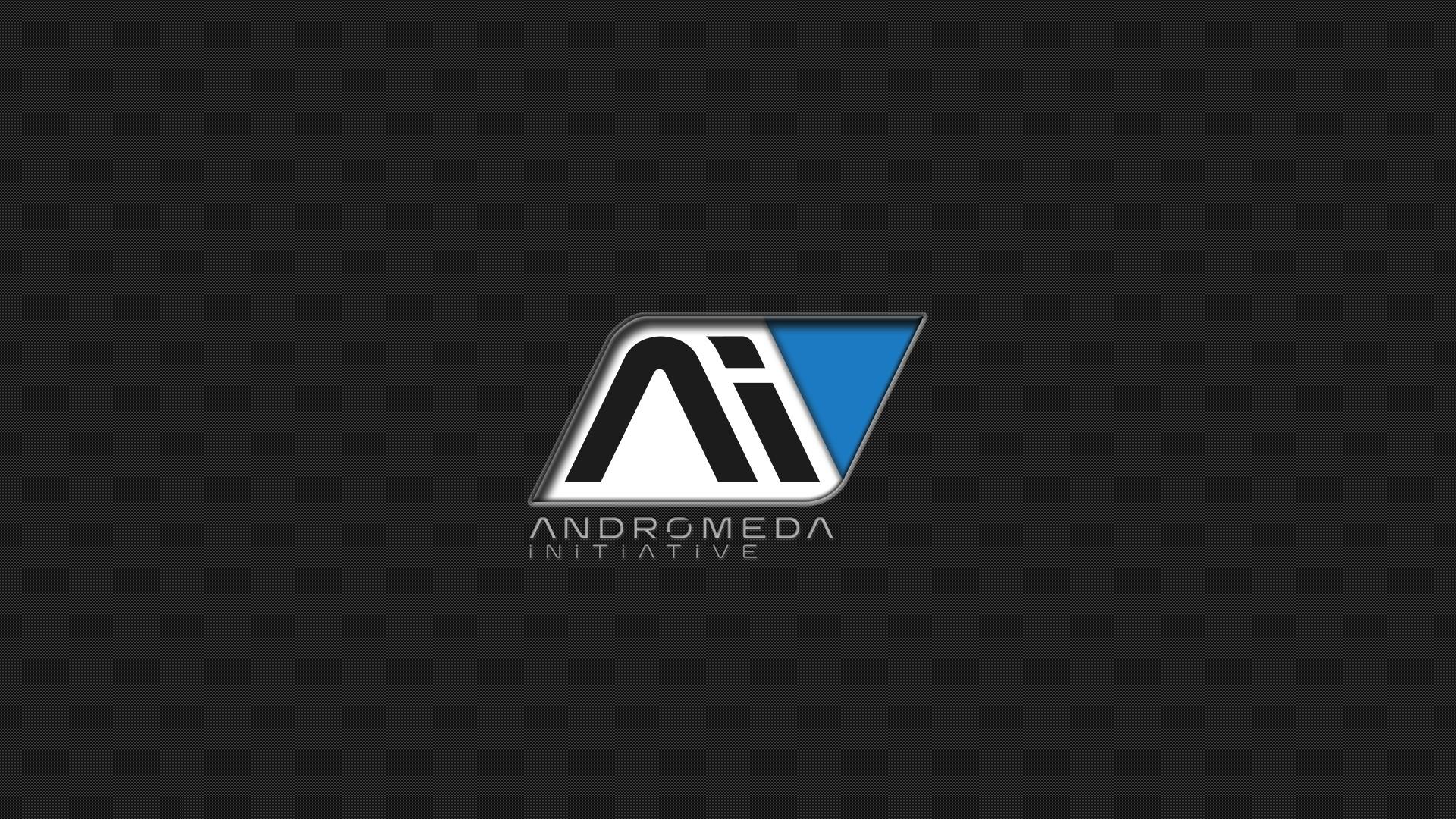 Wallpaper : artwork, text, logo, Mass Effect Andromeda, Andromeda