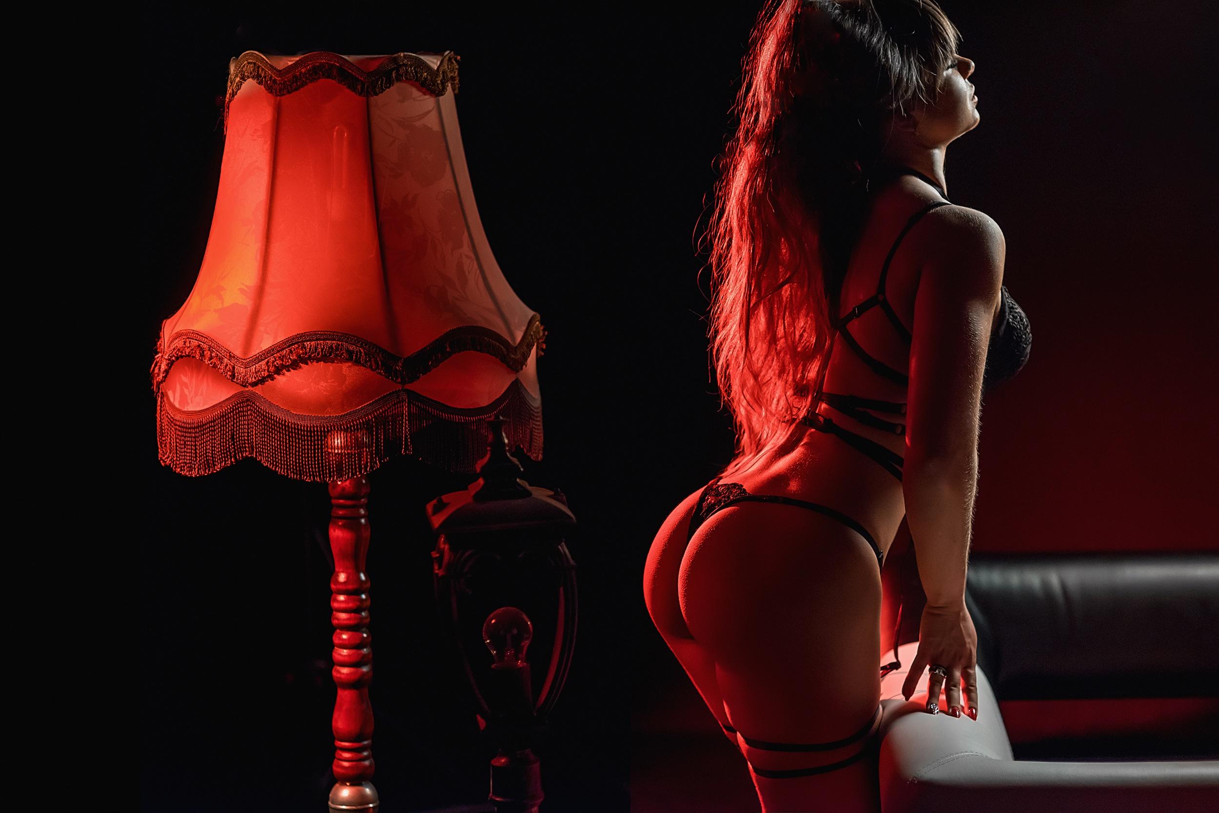 Красная задница фото #11
