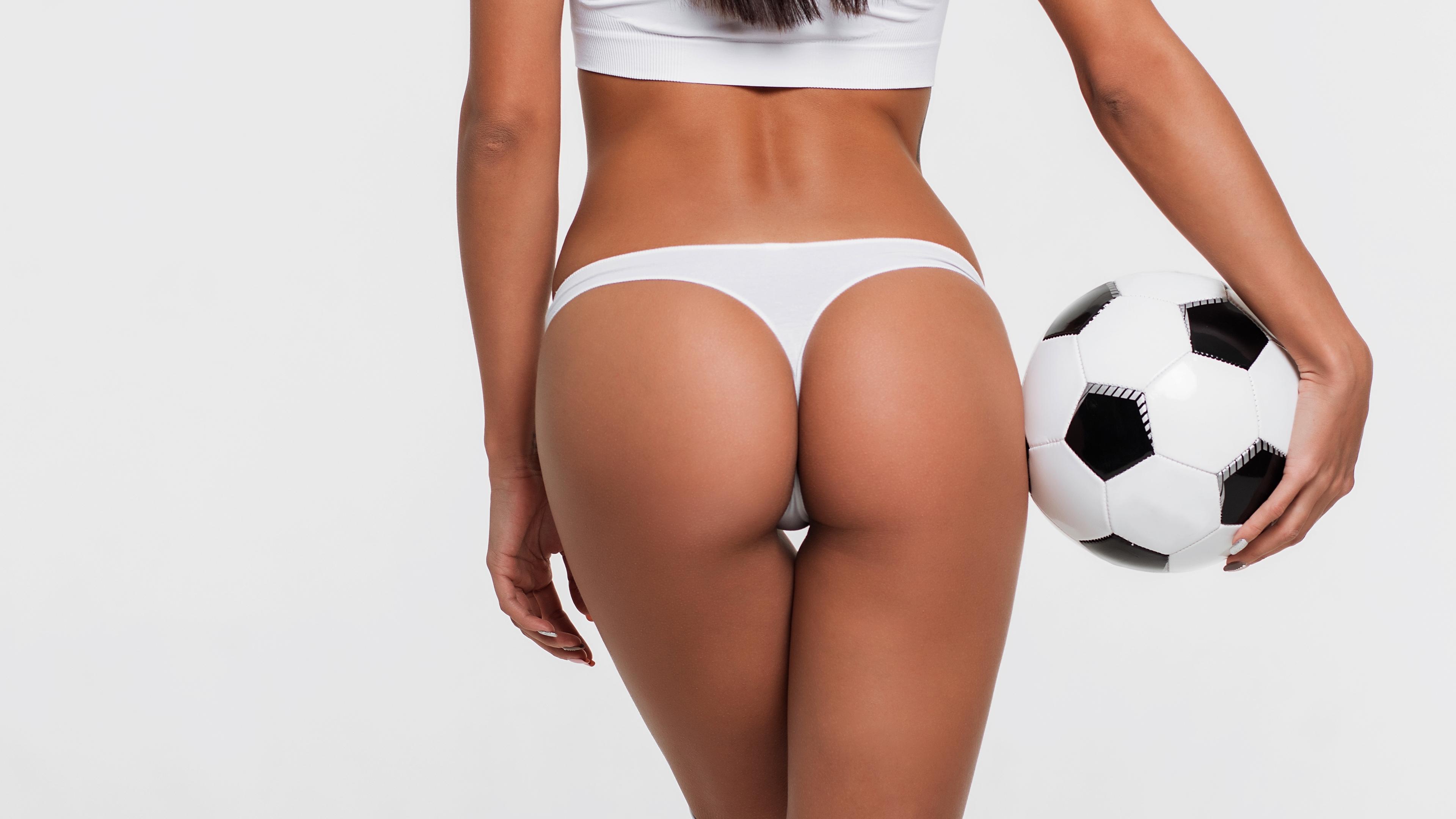 Женский футбол в стрингах купить нижнее белье женское в нижнем новгороде