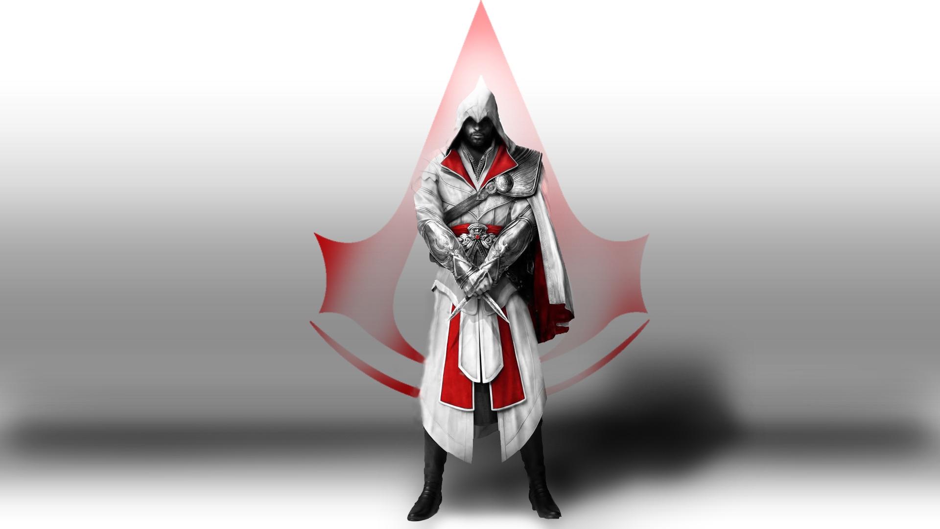 Wallpaper Assassins Creed Desmond Miles Assassins Symbol