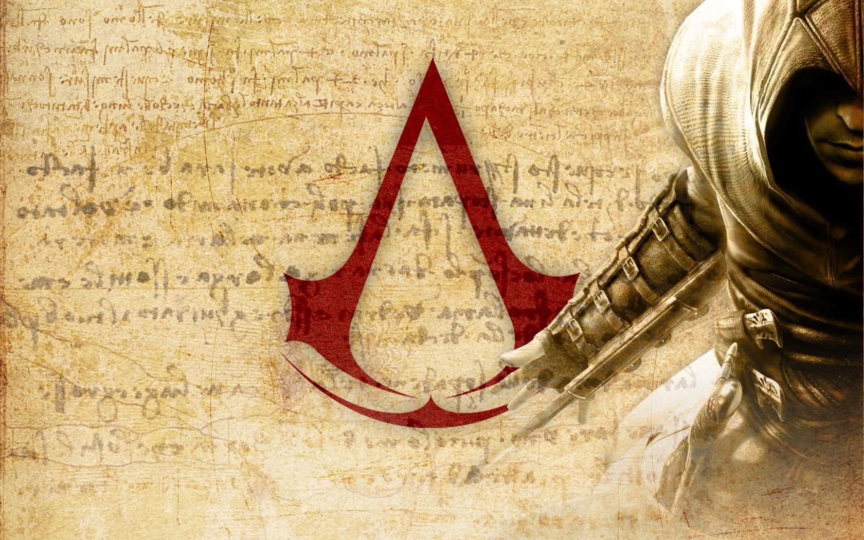 Assassins Creed Symbol Background Knife Hand Desmond Miles