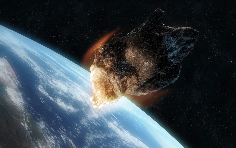 первому фотографии которые астероид приближается к земле производстве