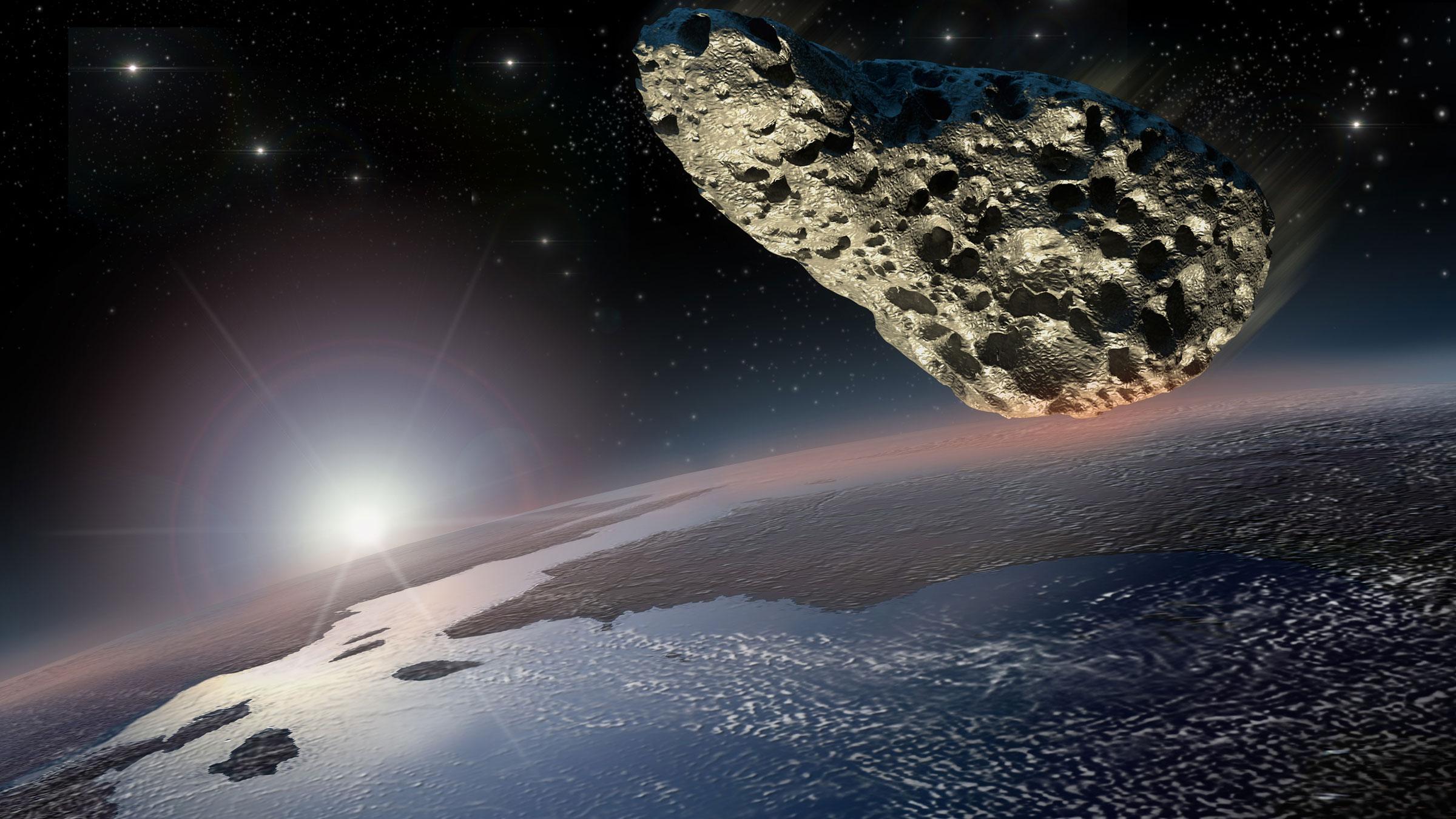фотографии которые астероид приближается к земле