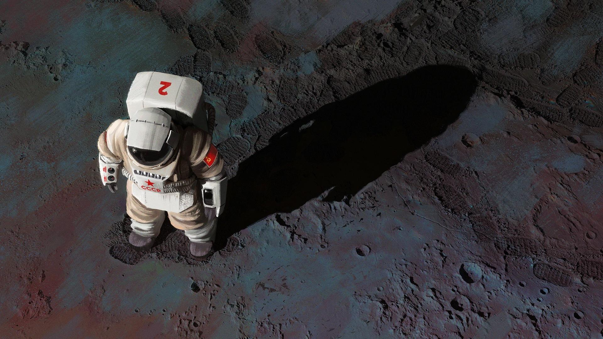 Обои скафандр, шлем, космонавт, astronaut. Игры foto 13