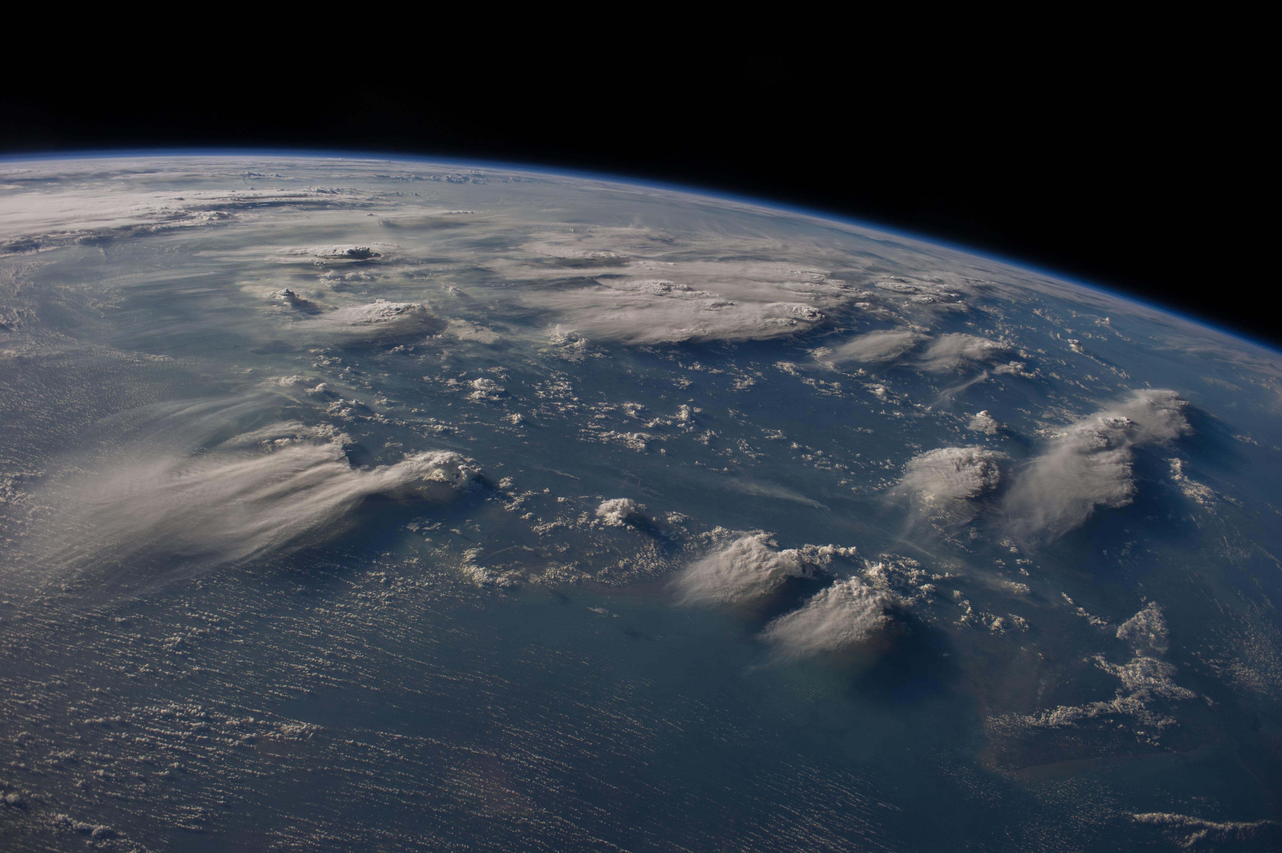космос атмосфера фото был первый аппарат