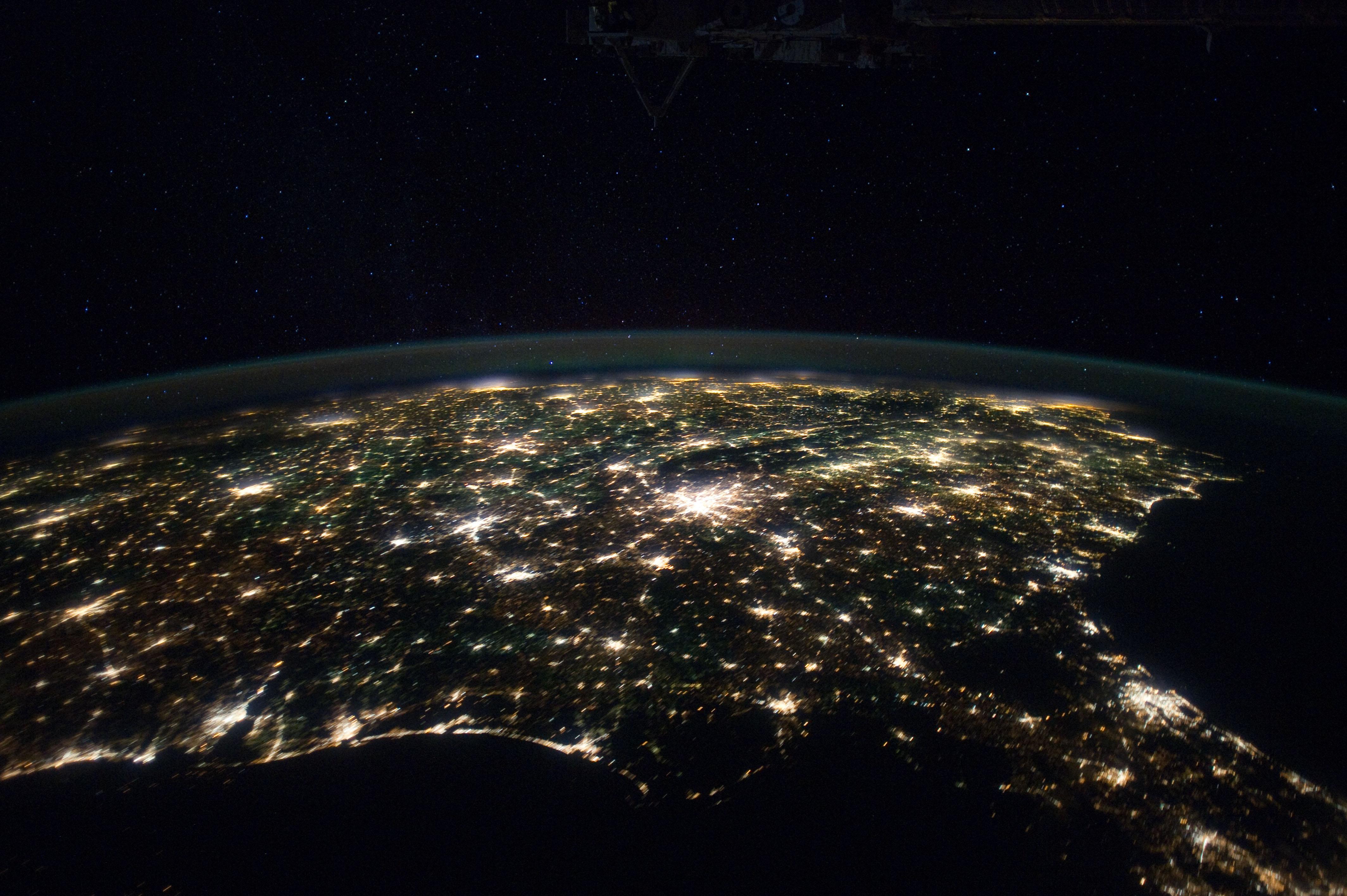 для привлечения фото мира из космоса или поведение