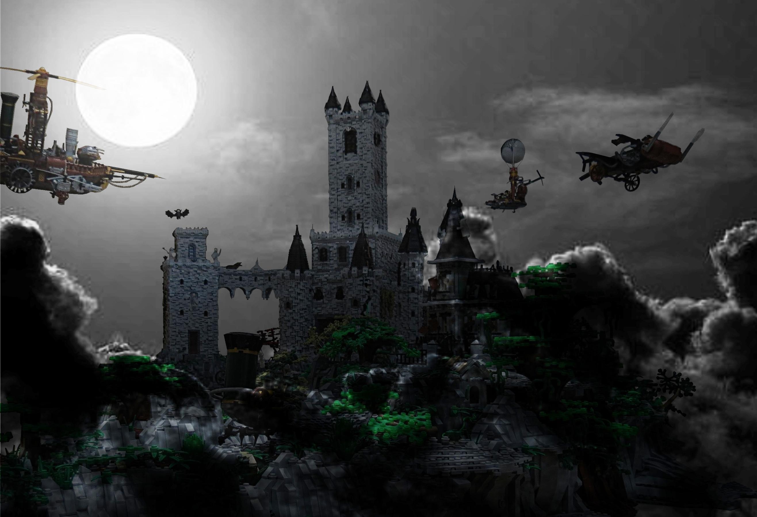 Замки вампиров к картинках