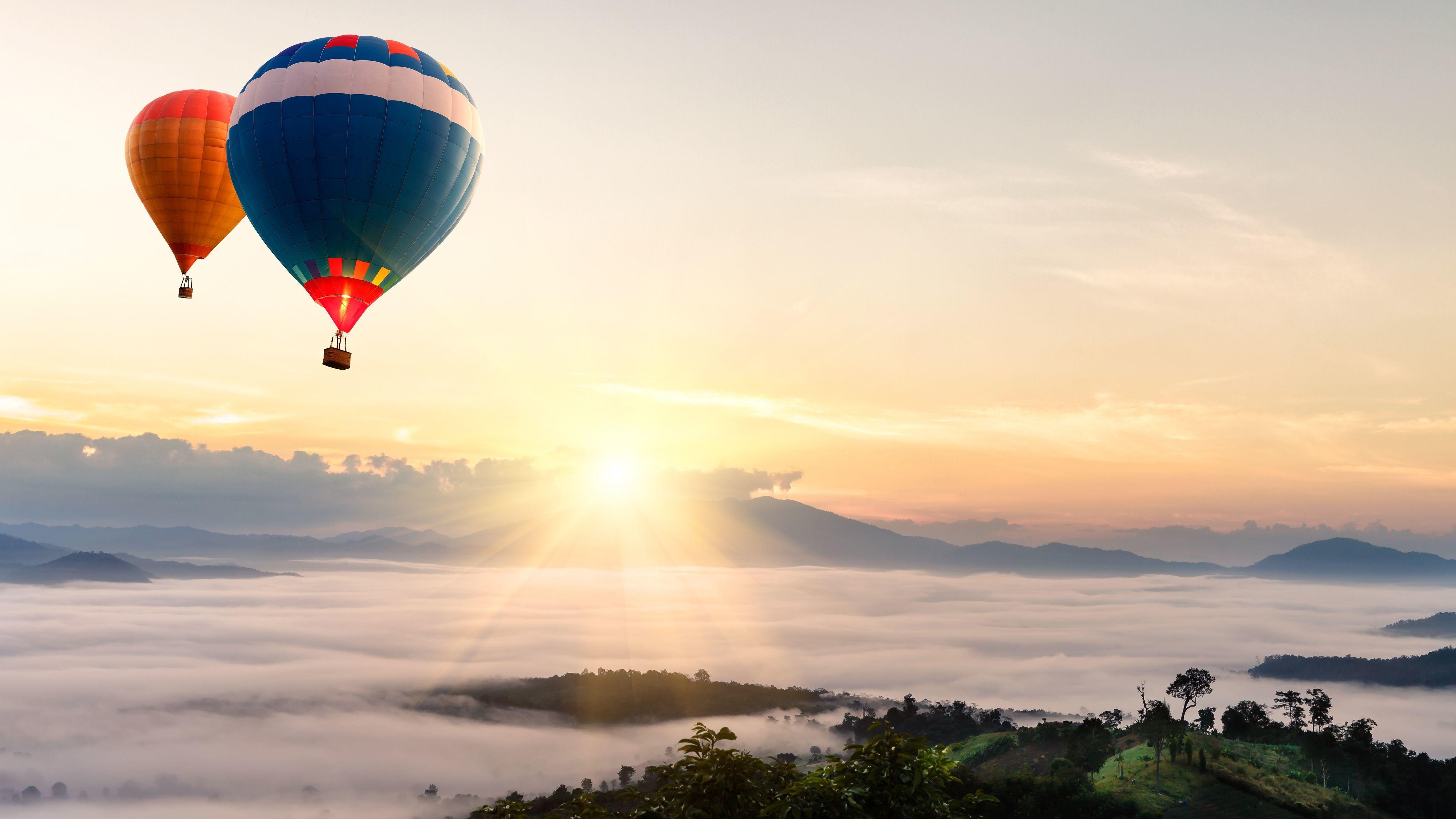 Обои воздушный шар, красиво. Города foto 9