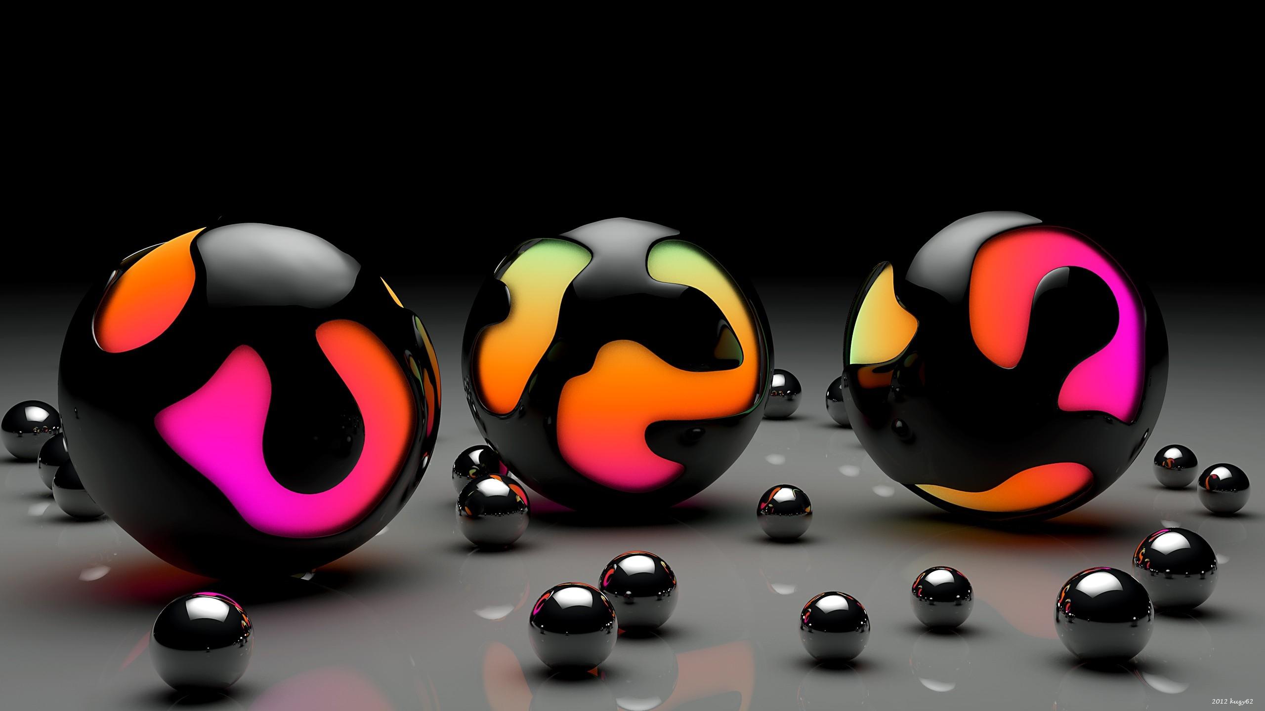 Fond Décran Des Balles Lumière Taille Surface