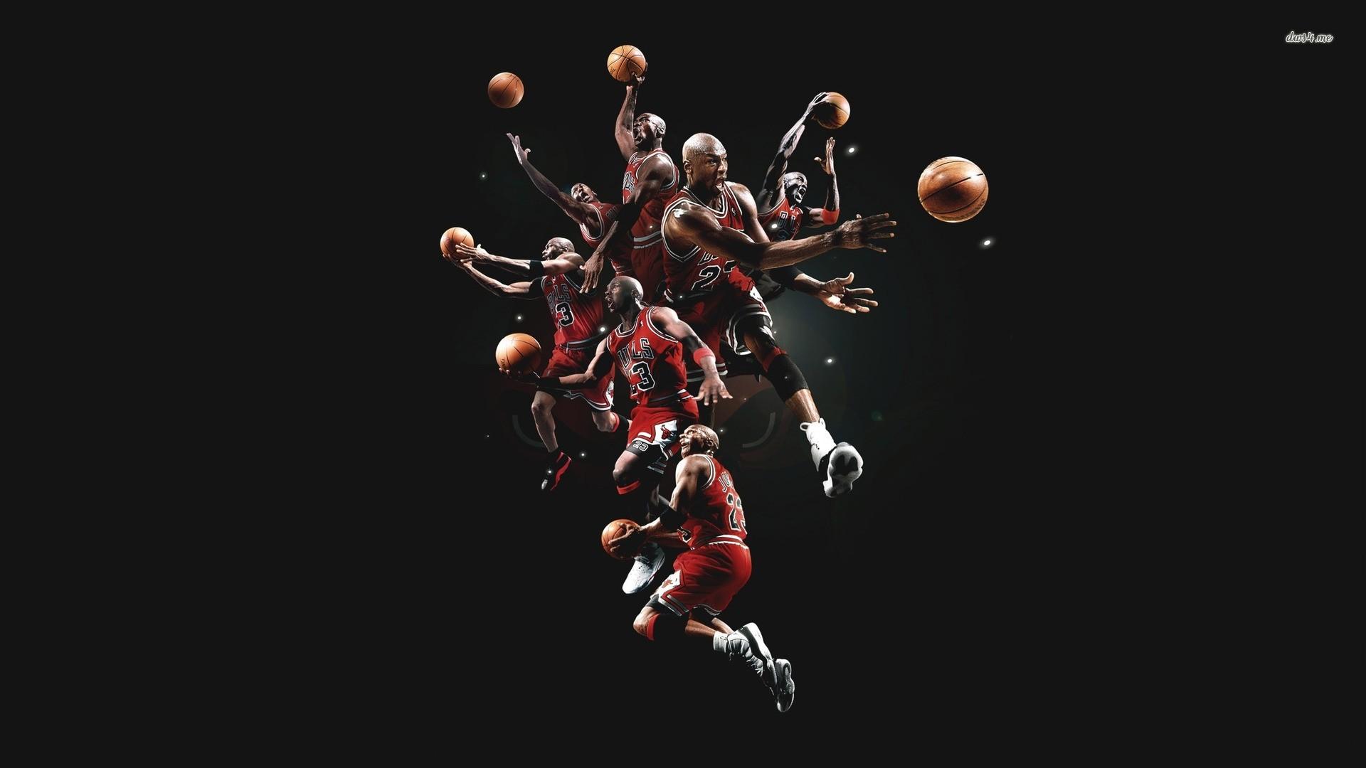 デスクトップ壁紙 バスケットボール シカゴ ブルズ マイケル