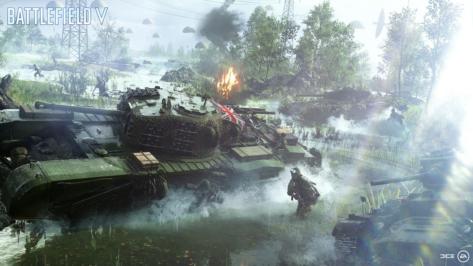 Battlefield 1 War Video Game Hd Wallpaper: Wallpaper : Battefield V, Battlefield V, Battlefield 5
