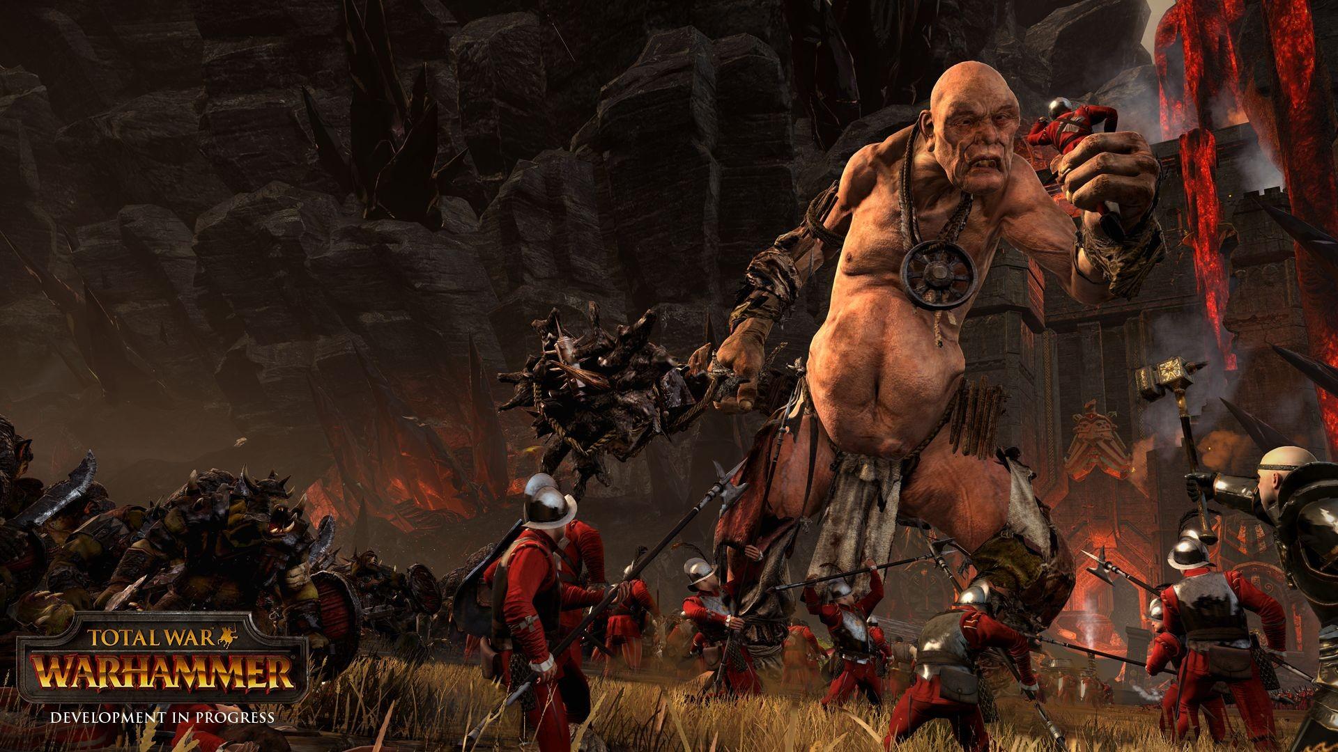 Wallpaper Battle Demon Pc Gaming Mythology Total War Warhammer