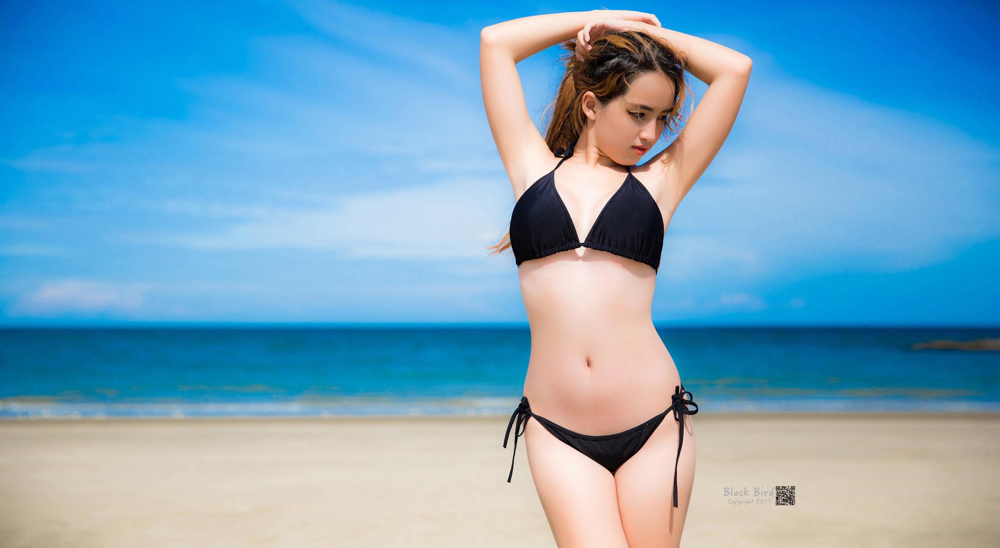 bikini wallpapers Black
